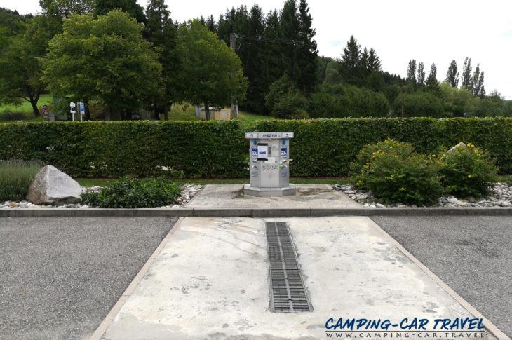 aire services camping car Ferrette Haut-Rhin