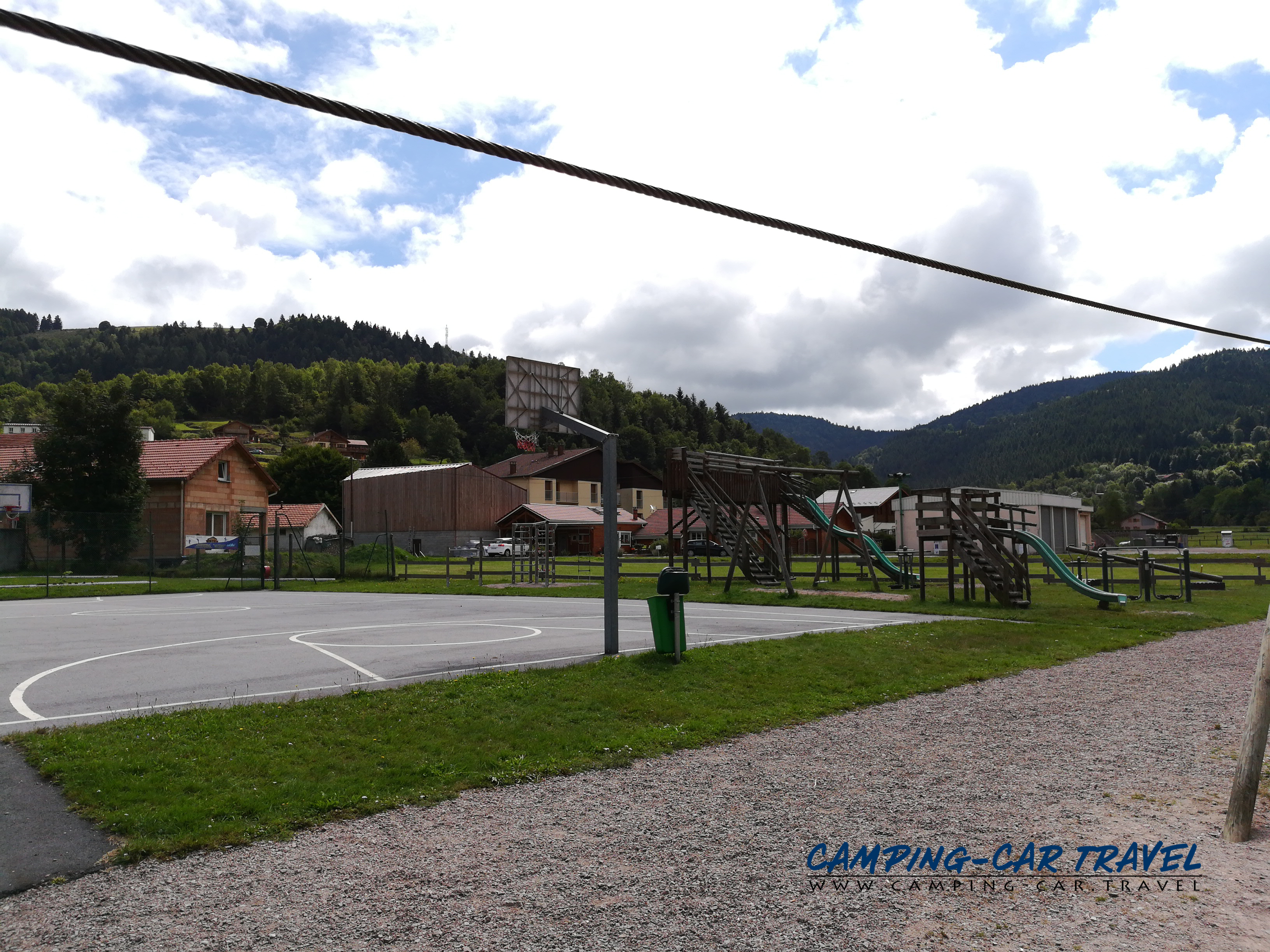 aire services camping car Ventron Vosges