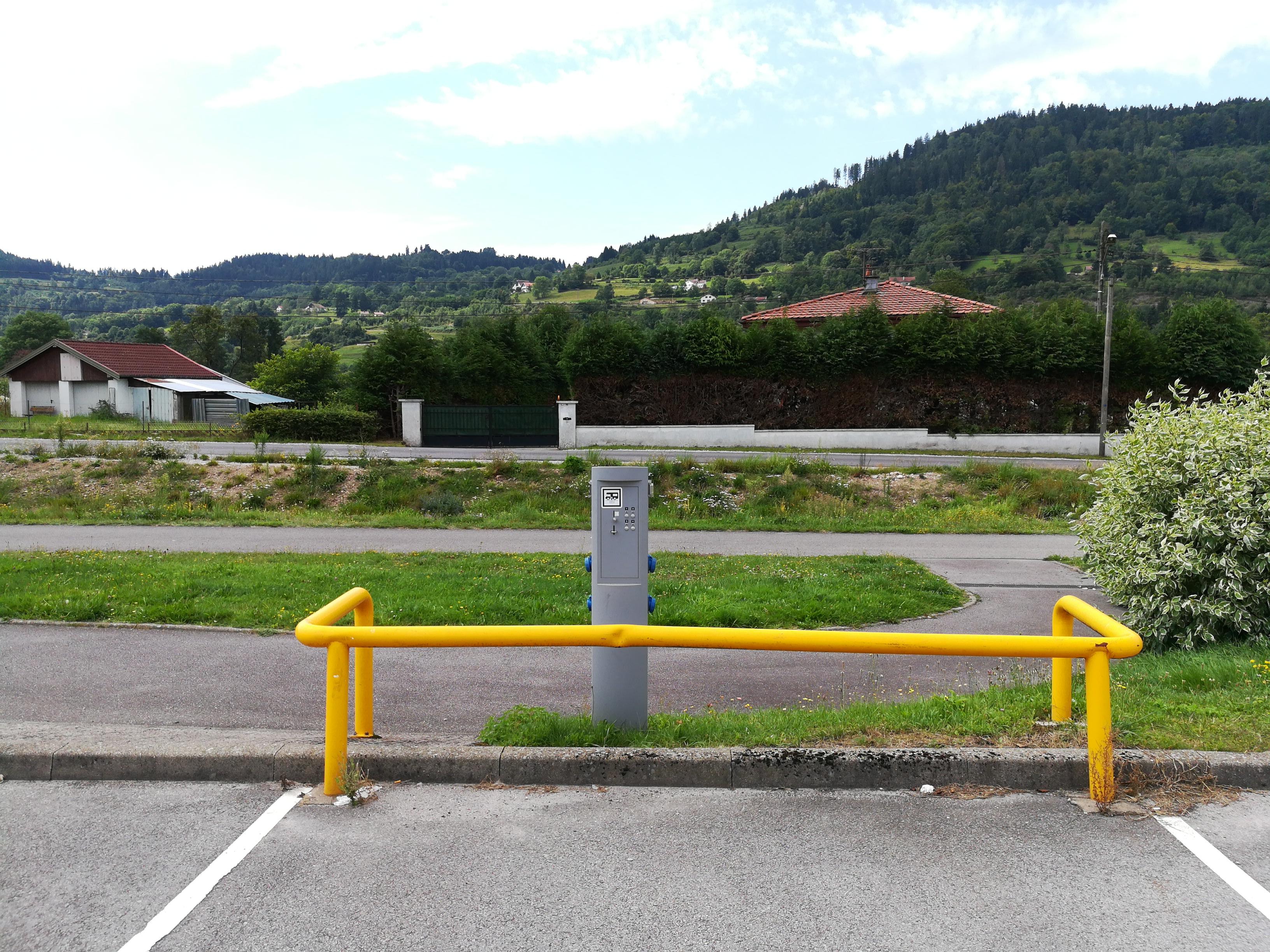 aire services camping car Rupt-sur-Moselle Vosges