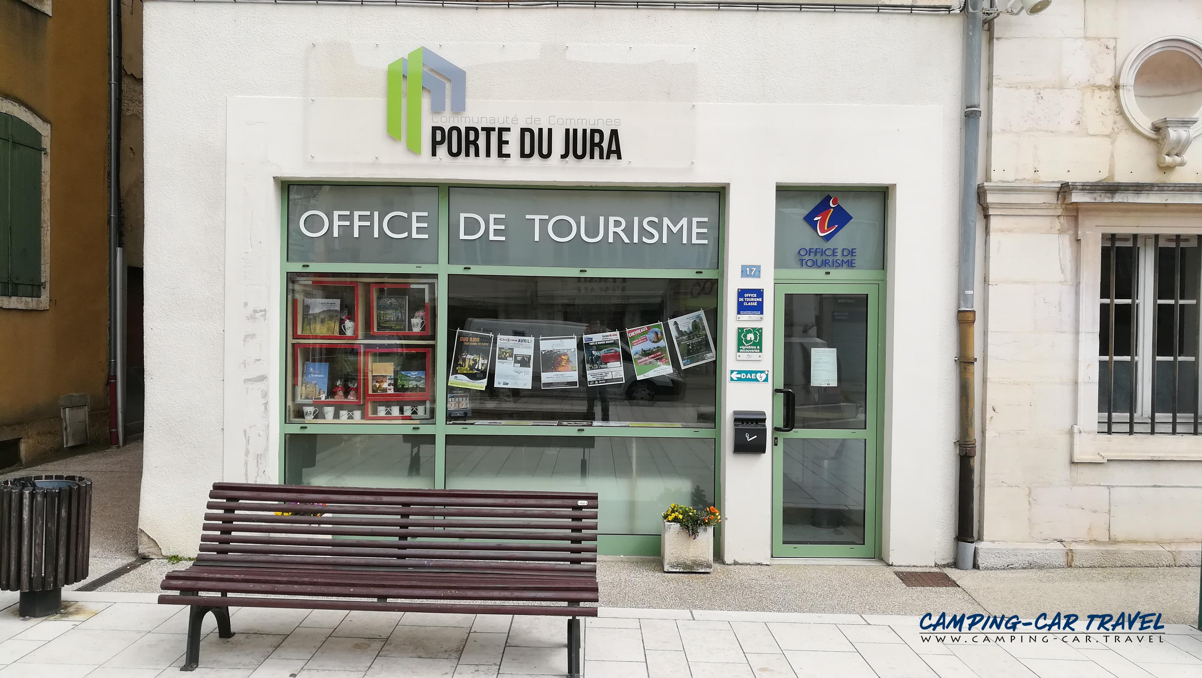 aire services camping car Saint-Amour Jura