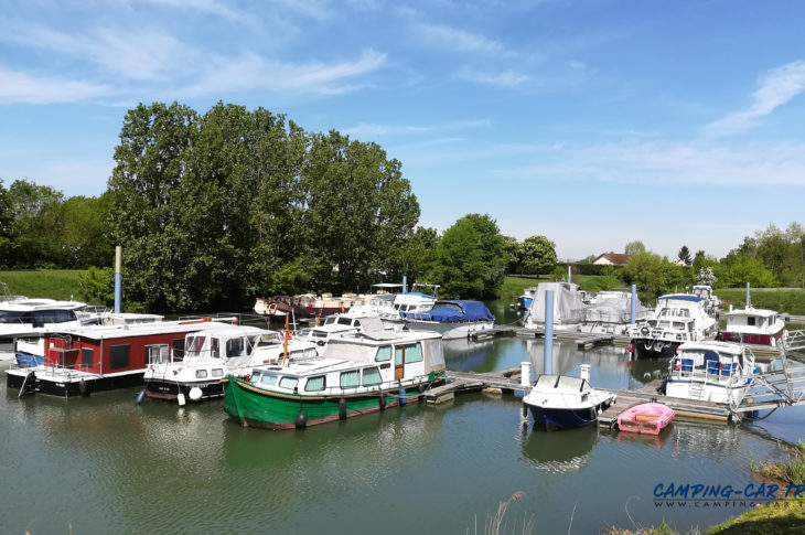 aire services camping car Seurre Côte-d'Or
