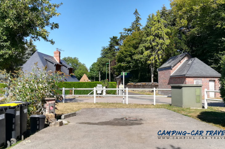 aire services camping car Campigny Eure Normandie