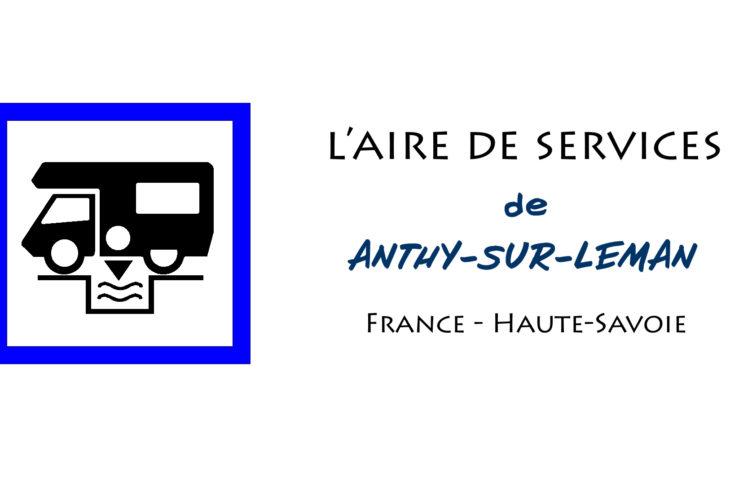 aire services camping car Anthy-sur-Léman Haute-Savoie