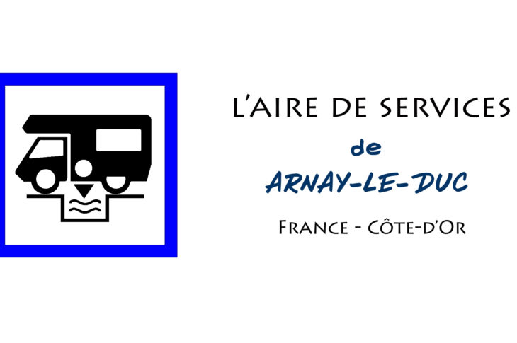 aire services camping car Arnay-le-Duc Côte-d'Or