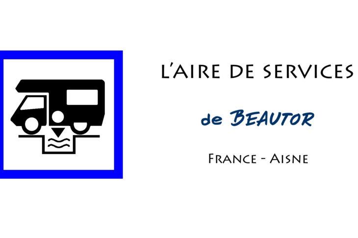 aire services camping car Beautor Aisne