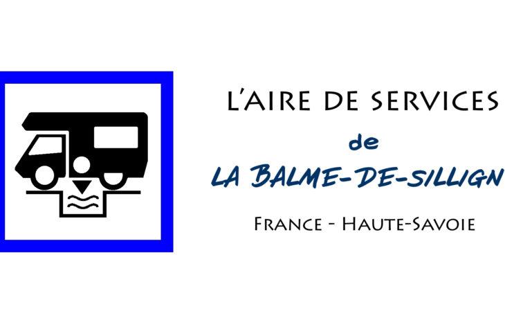 aire de services camping car de la balme de sillingy en Haute Savoie