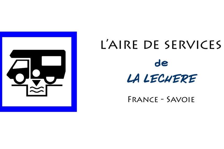 aire de services camping car de La Léchère en Savoie