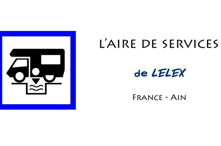 aire services camping car Lélex Ain