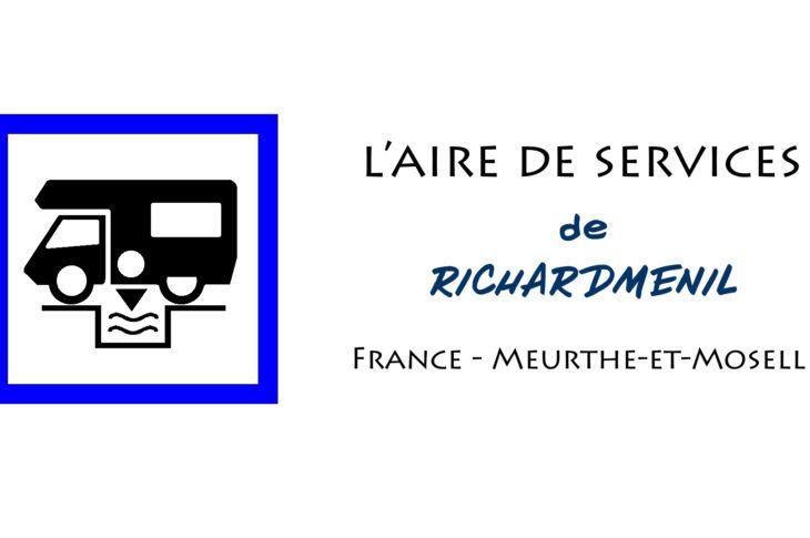 aire services camping car Richardménil Meurthe-et-Moselle