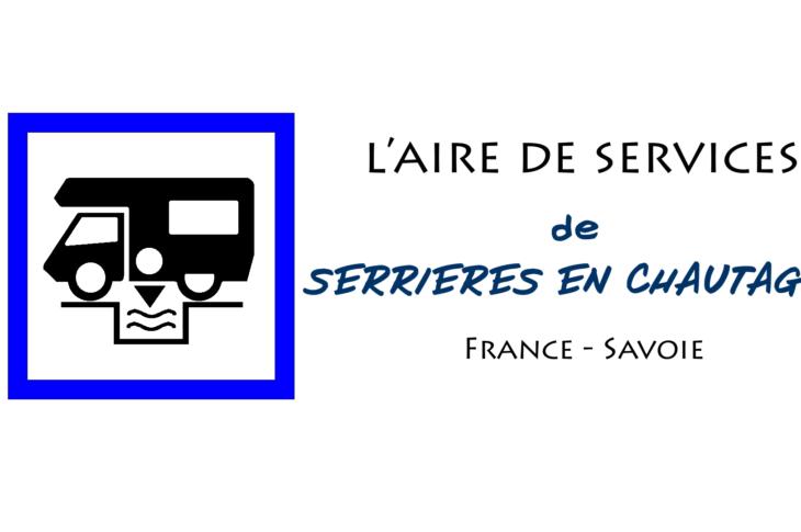 aire services camping car Serrières-en-Chautagne Savoie