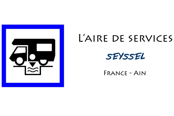 aire services camping car Seyssel Ain