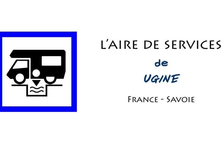 aire de services camping car Ugine Savoie