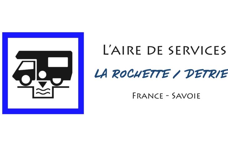 aire services camping cars La Rochette Détrier Savoie