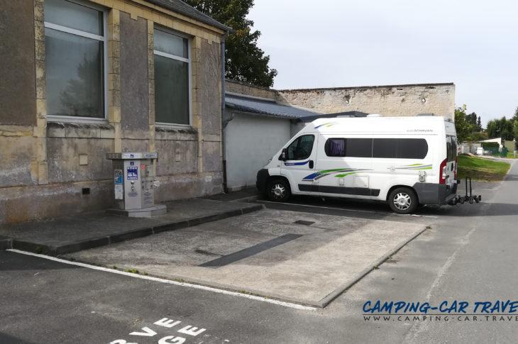 aire services camping car Sallenelles Calvados Normandie