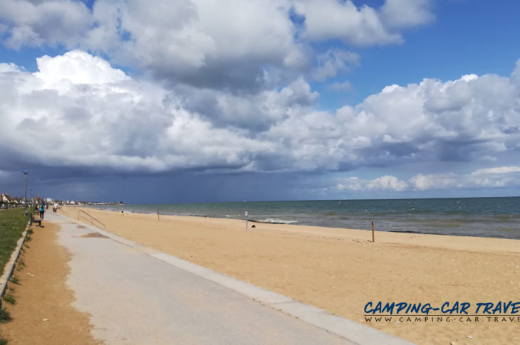 aire services camping cars Hermanville-sur-Mer Calvados Normandie
