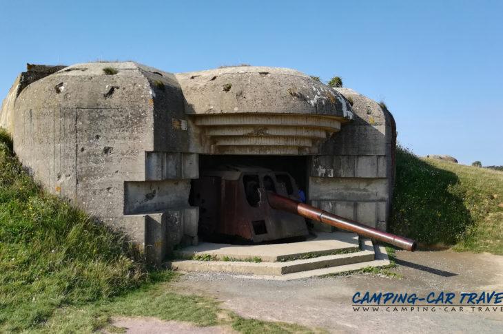 aire stationnement camping cars Longues-sur-Mer Calvados Normandie