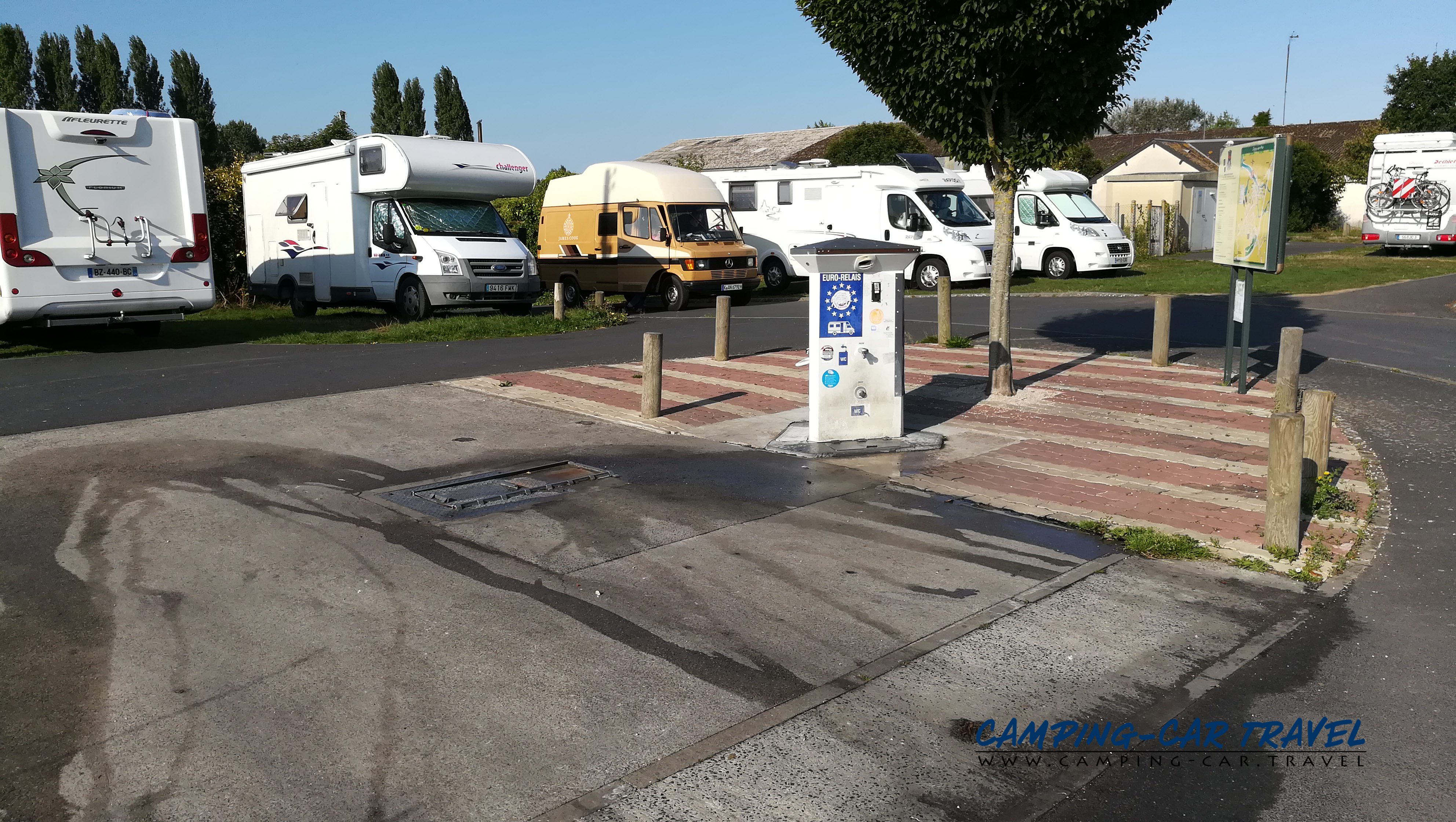 aire services camping car Isingny-sur-Mer Calvados Normandie