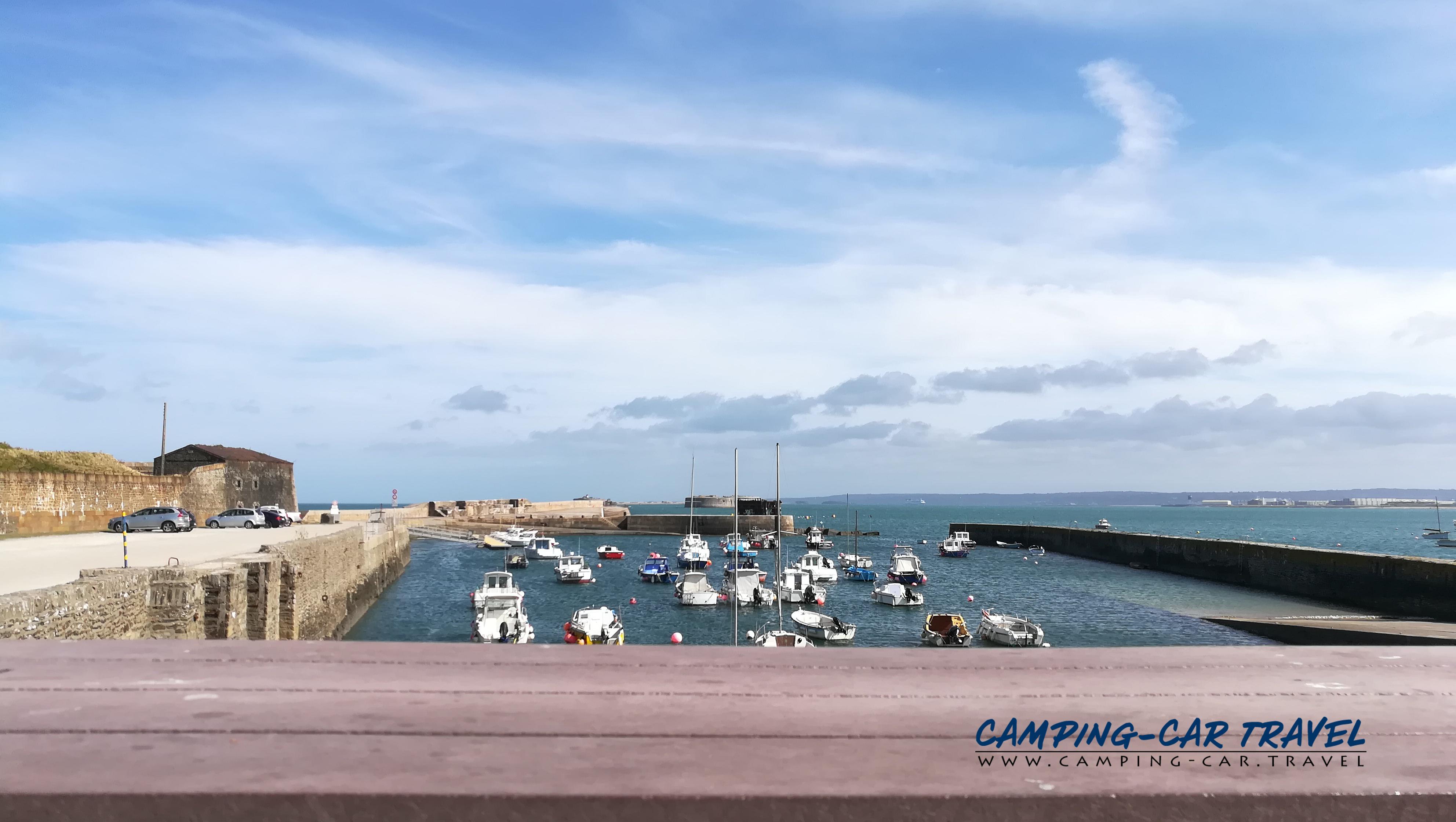 aire services camping car Pointe de Querqueville Manche Normandie