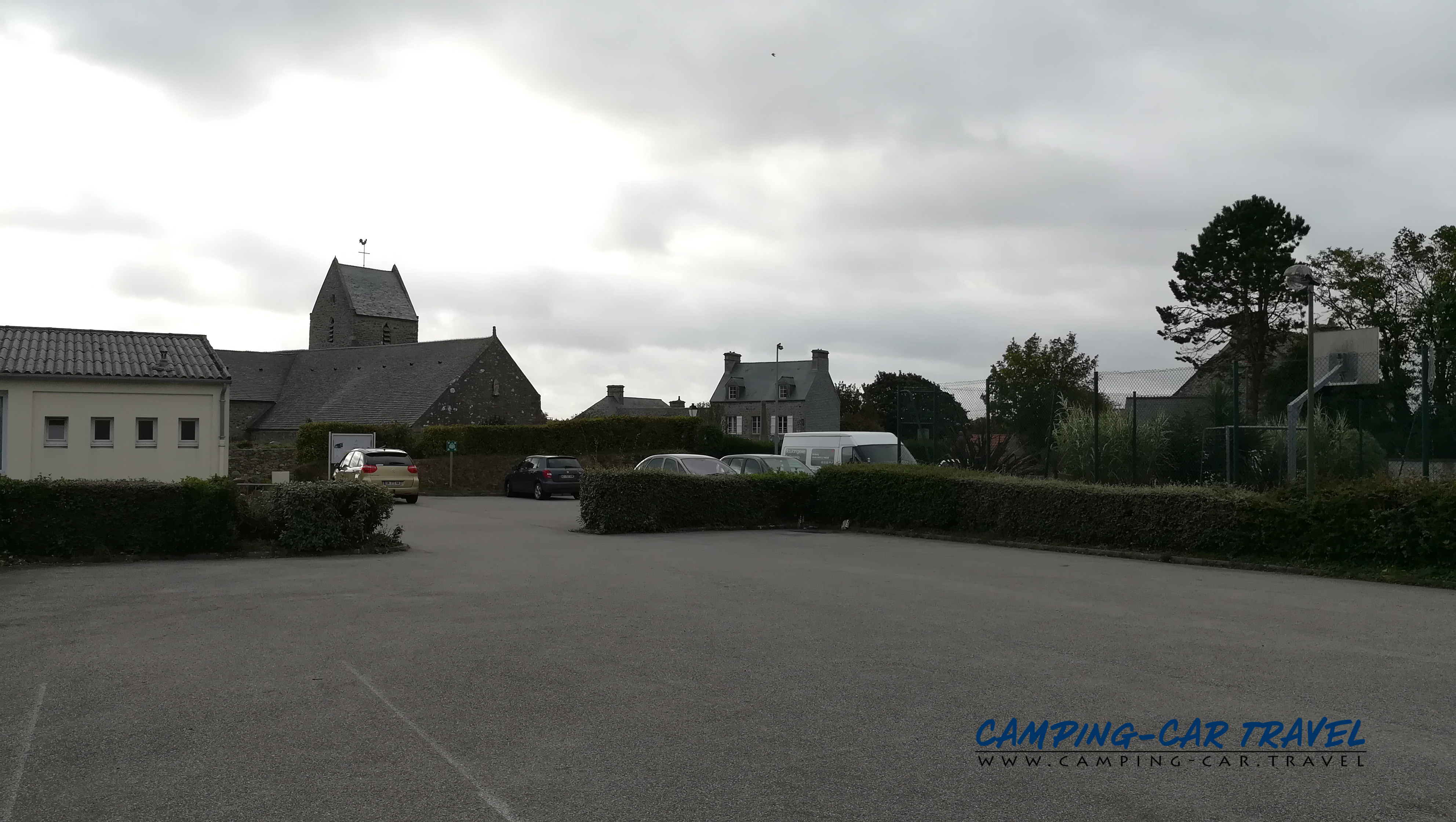 aire services camping car Greville-Hague Manche Normandie