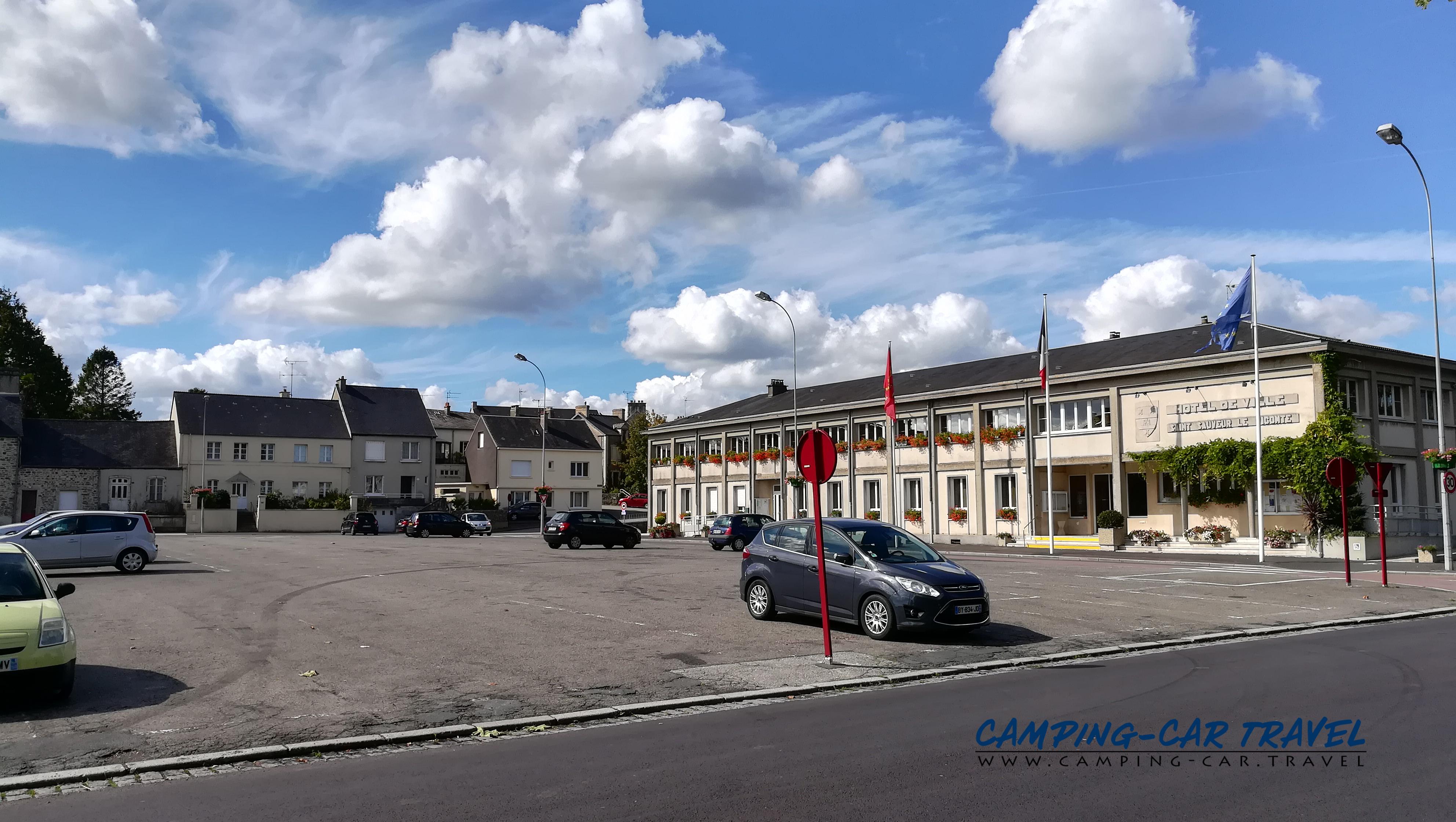 aire services camping car Saint-Sauveur-le-Vicomte Manche Normandie