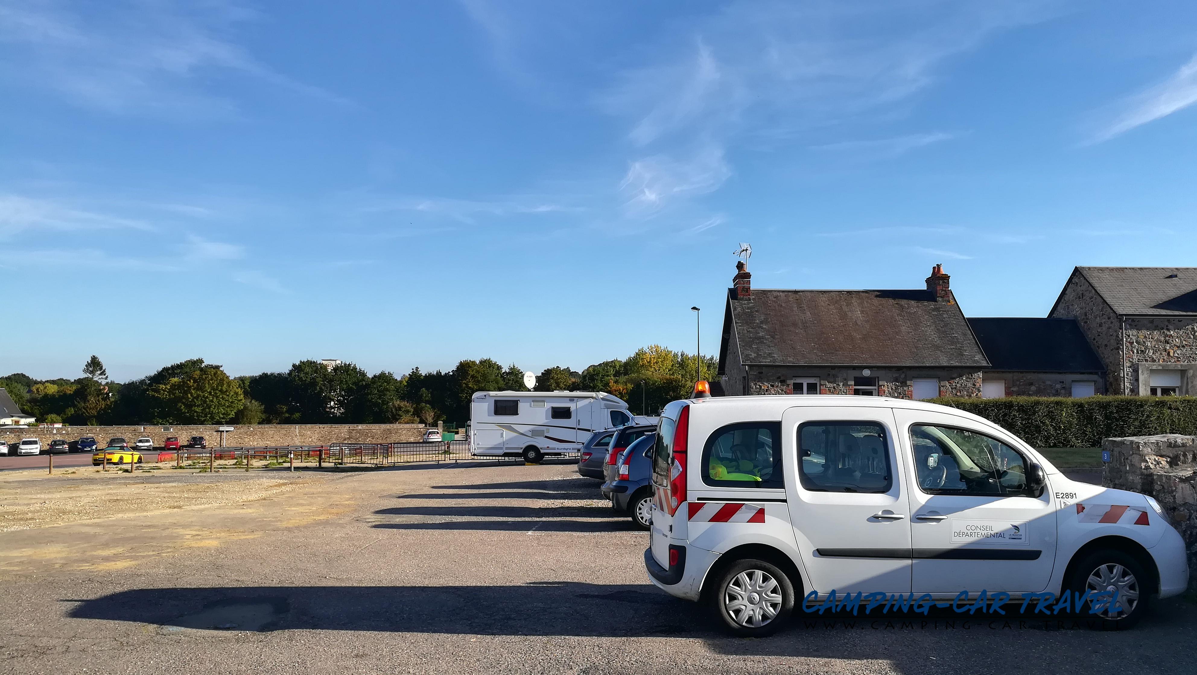 aire services camping car La Haye-du-Puits Manche Normandie
