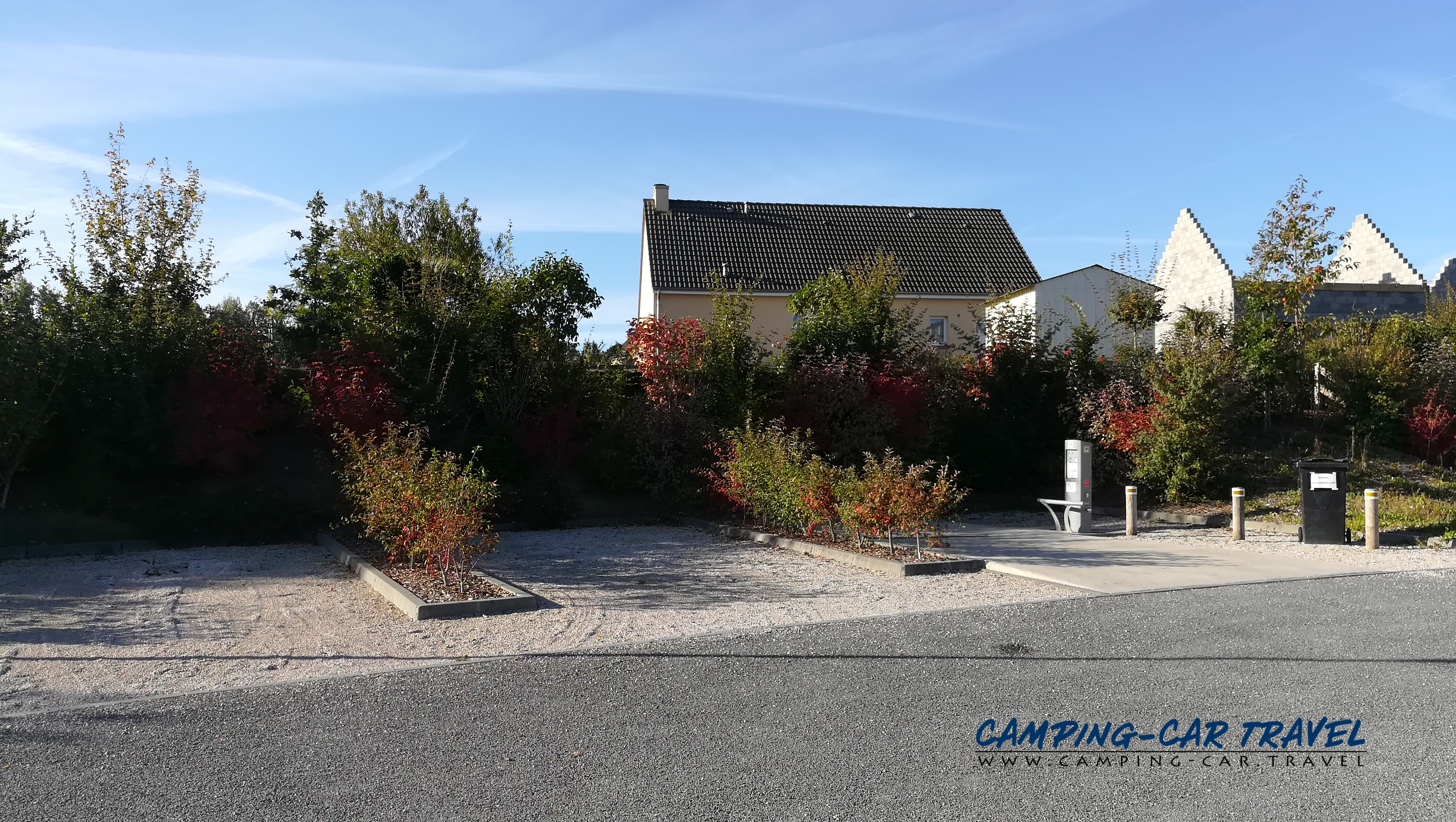 aire services camping car Cérences Manche Normandie