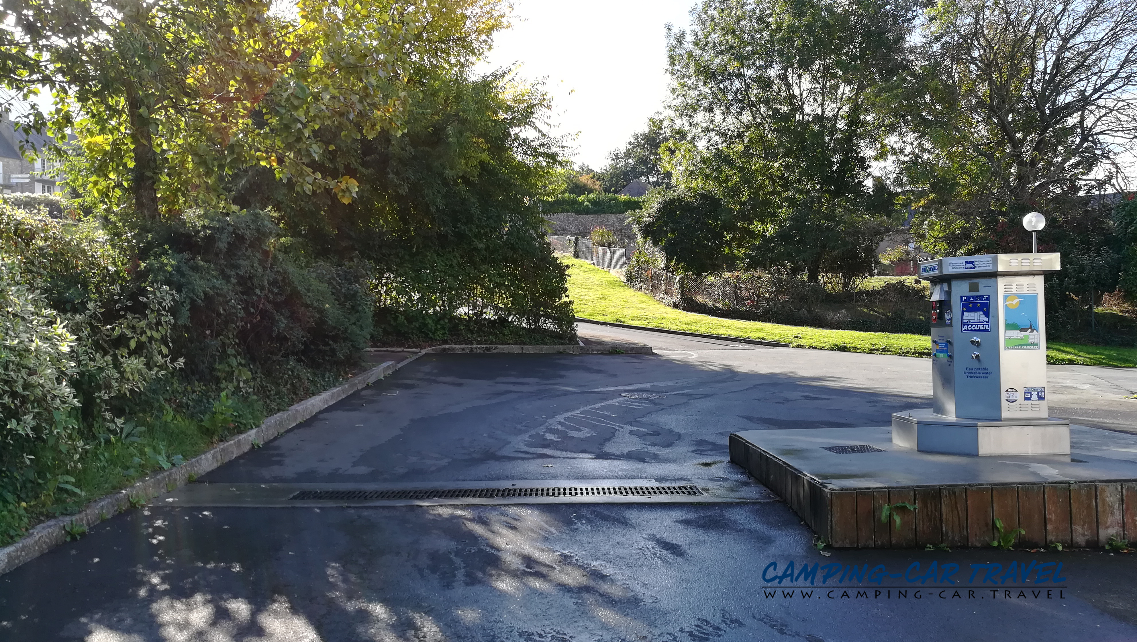 aire services camping car Avranches Manche Normandie