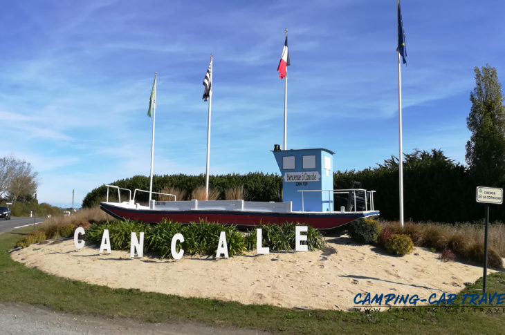 aire services camping car Saint-Méloir-des-Ondes Cancale Ile-et-Vilaine Bretagne