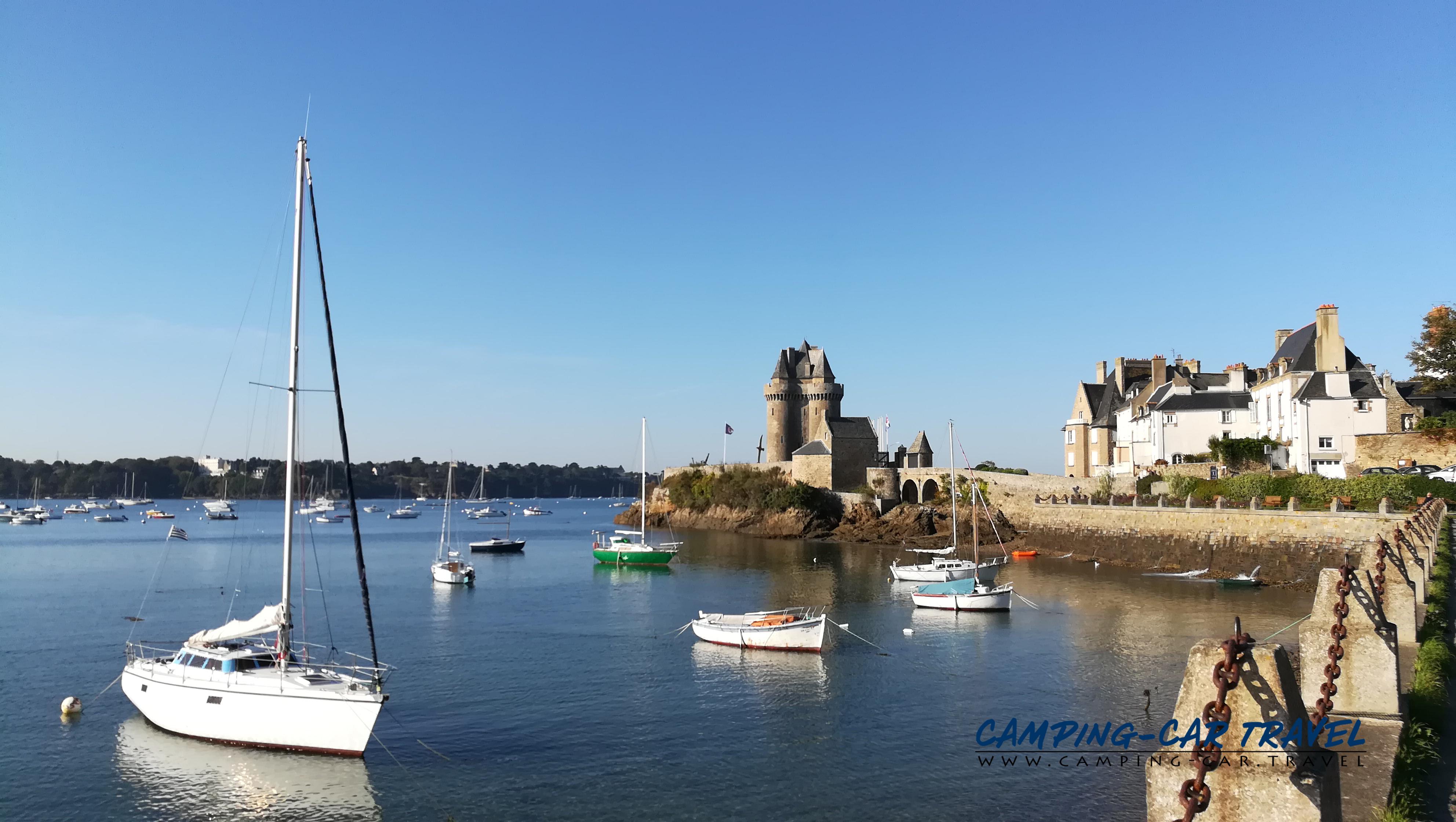 aire services camping car Saint-Malo Ile-et-Vilaine Bretagne