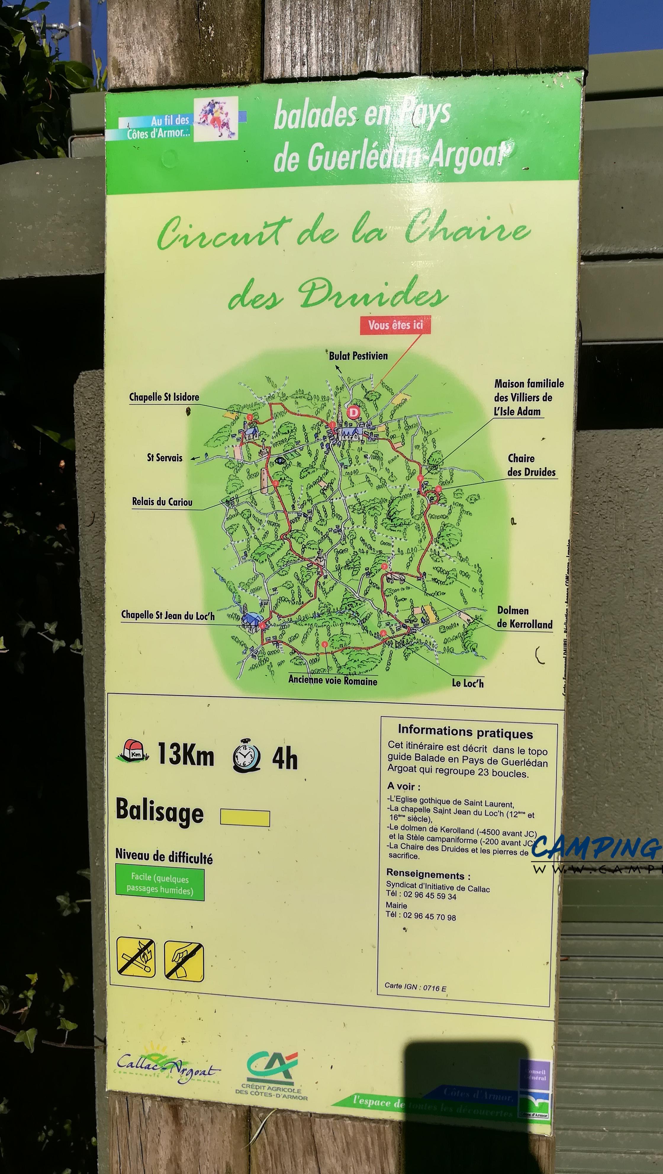 aire services camping car Maël-Pestivien Côtes-d'Armor Bretagne
