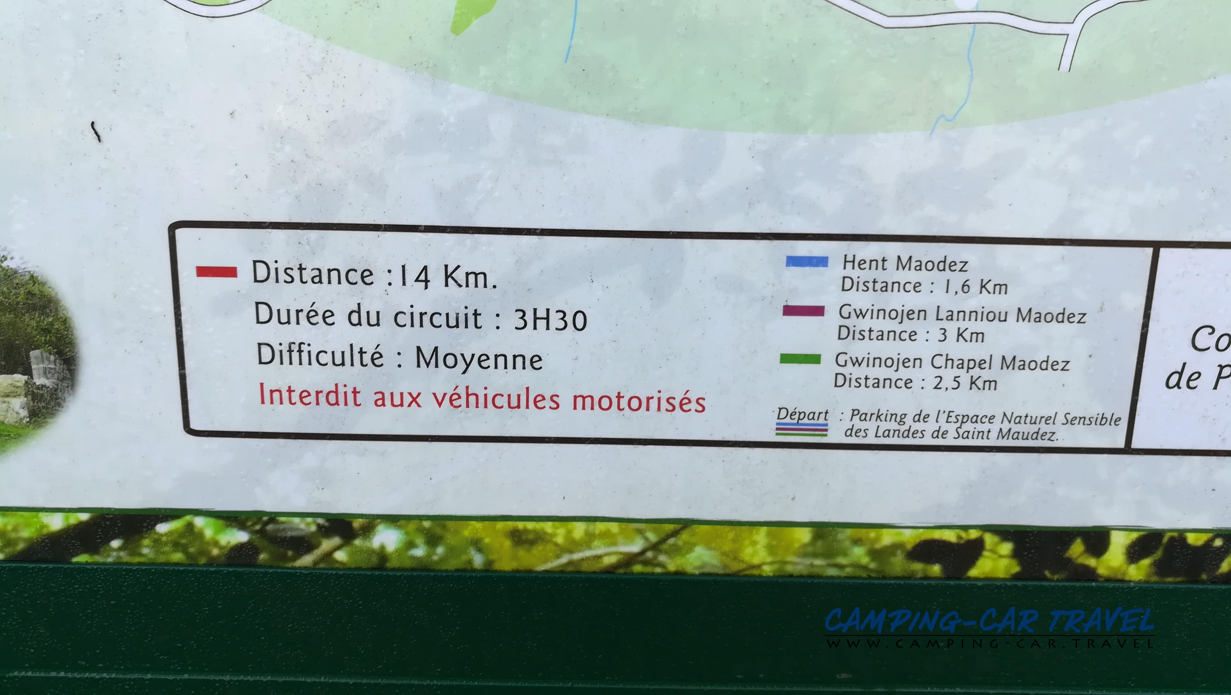 aire services camping car Plourac'h Plourach Côtes-d'Armor Bretagne