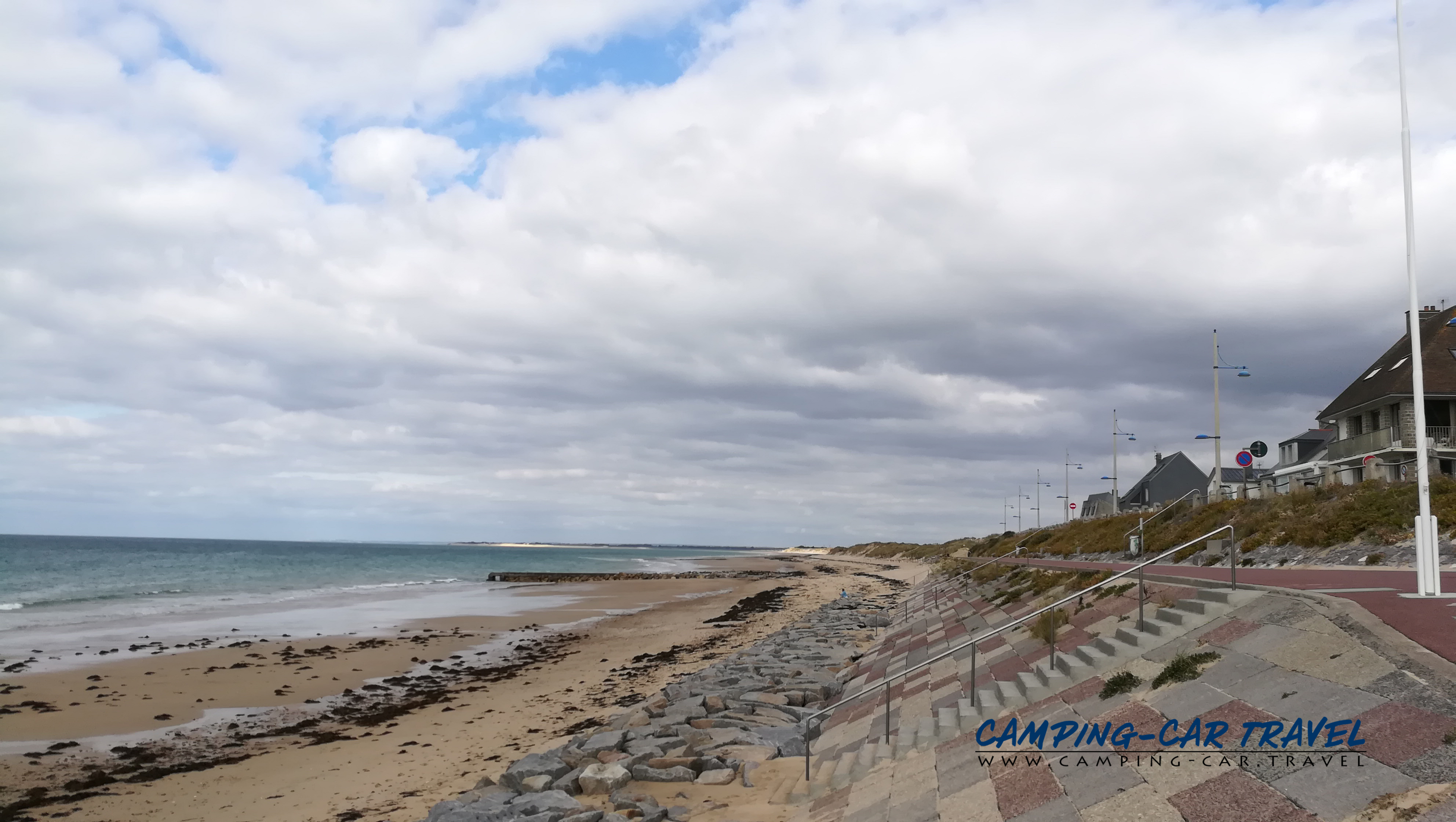 aire services camping car Pirou-Plage Manche Normandie