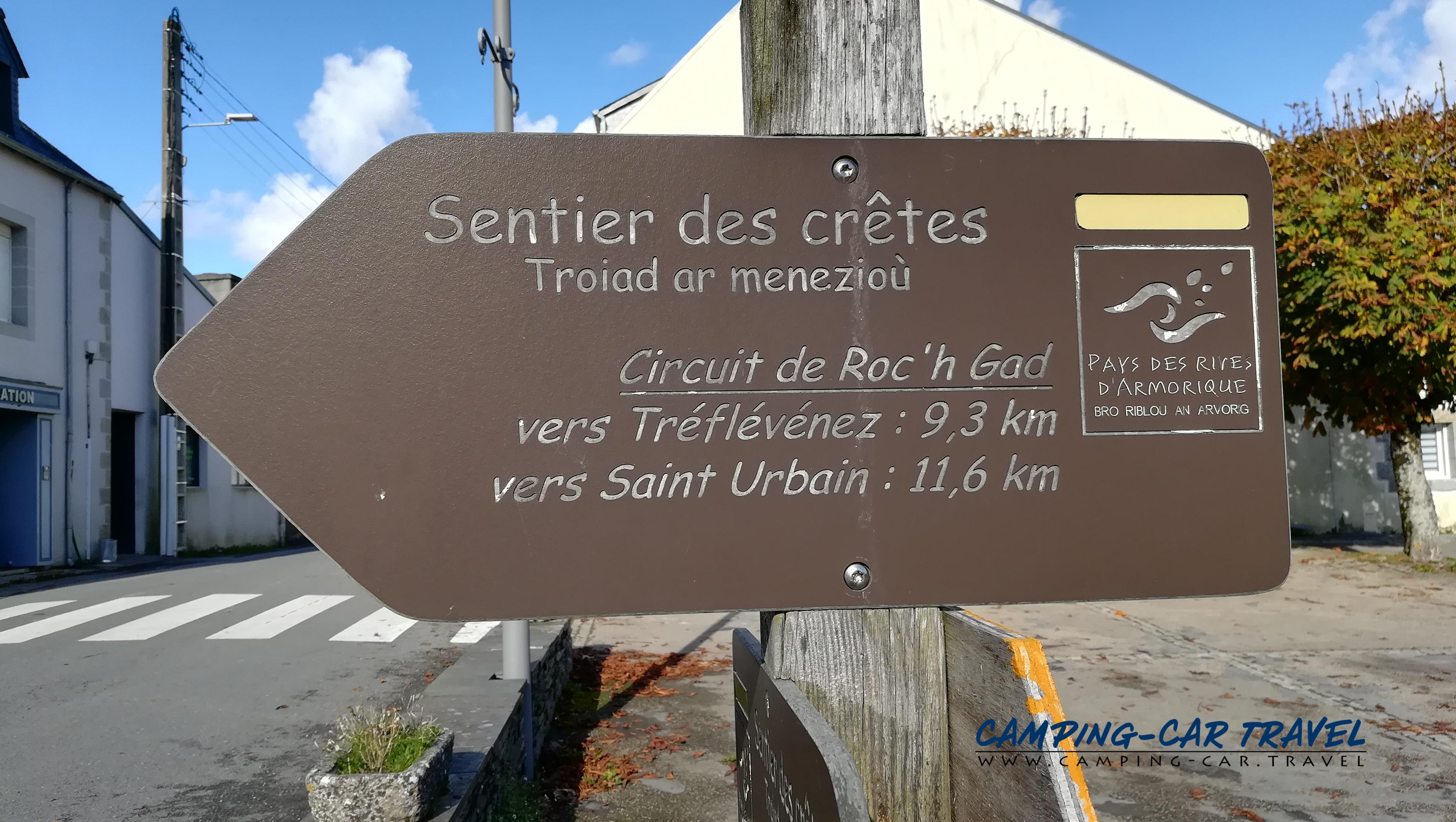 aire services camping car Le Tréhou Finistère Bretagne