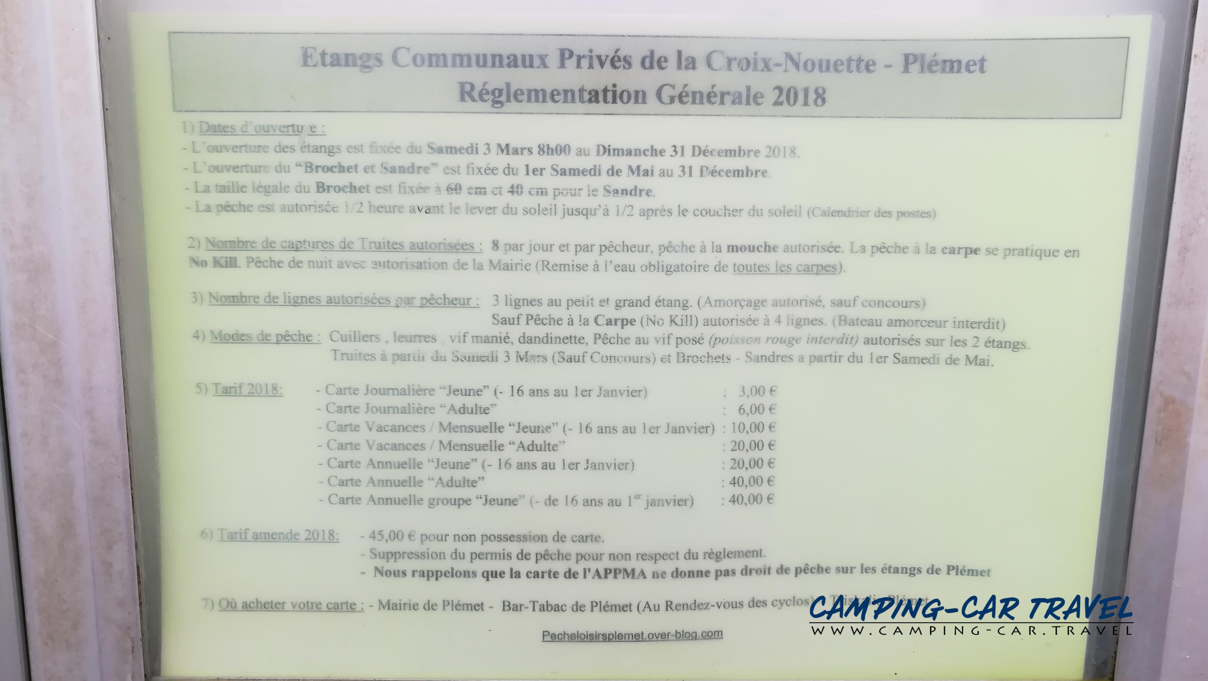aire services camping car Plémet Côtes-d'Armor Bretagne