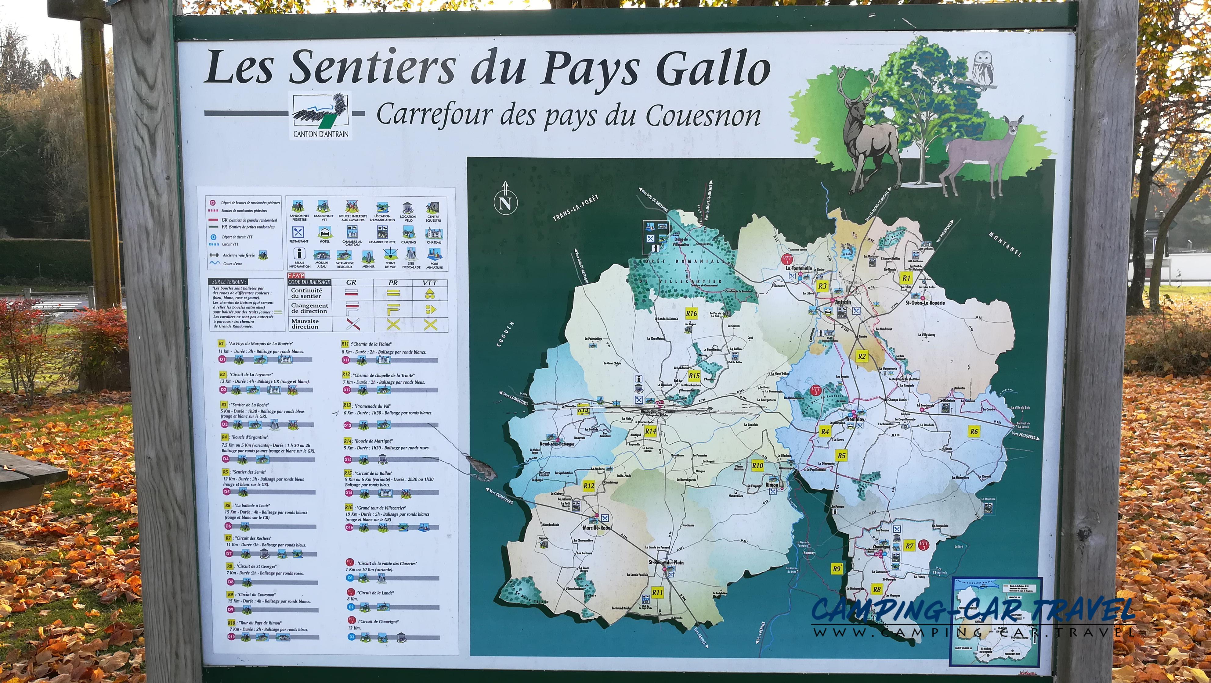aire services camping car Antrain Ille-et-Vilaine Bretagne