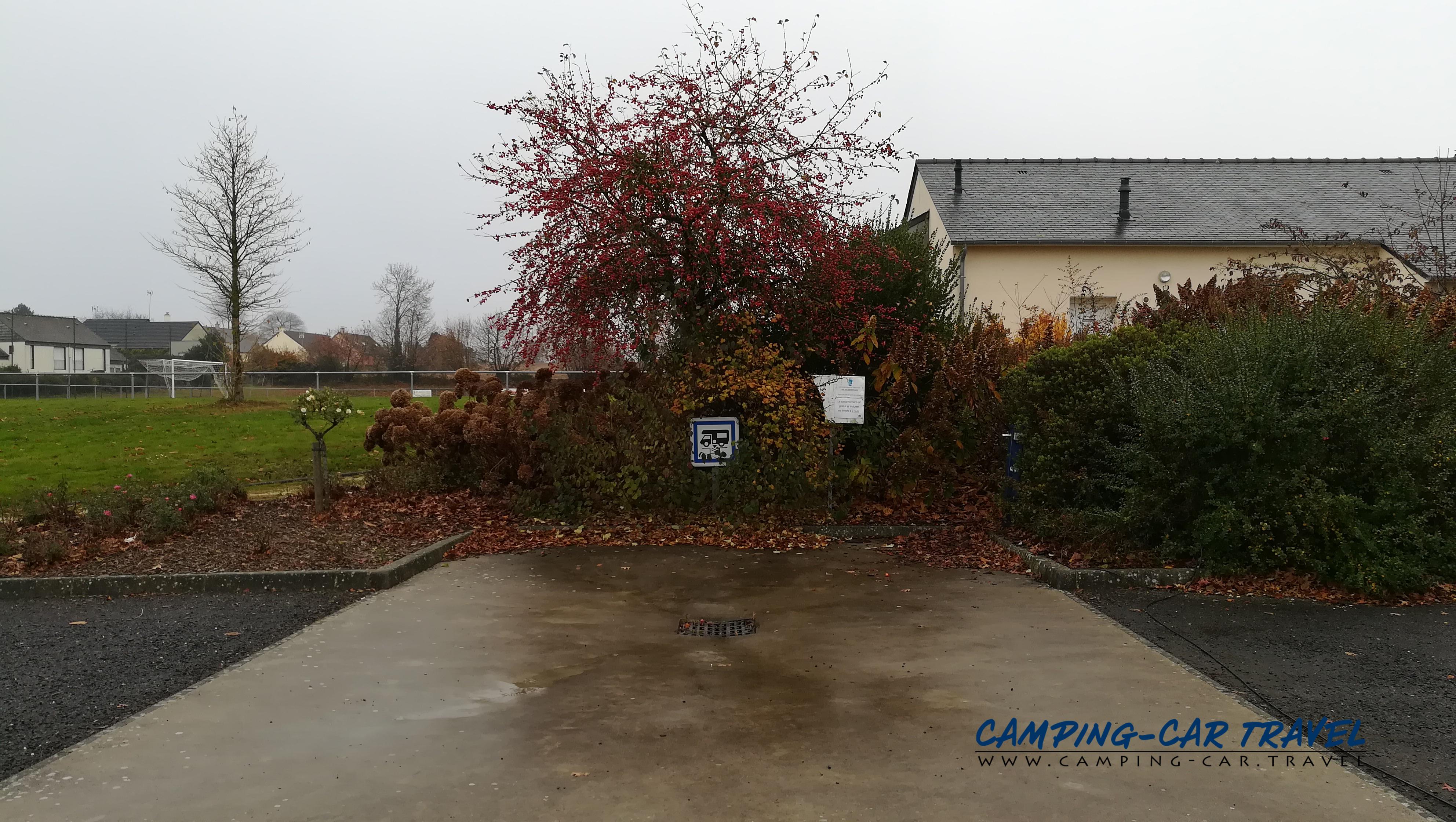 aire services camping car Landivy Mayenne Pays-de-la-Loire