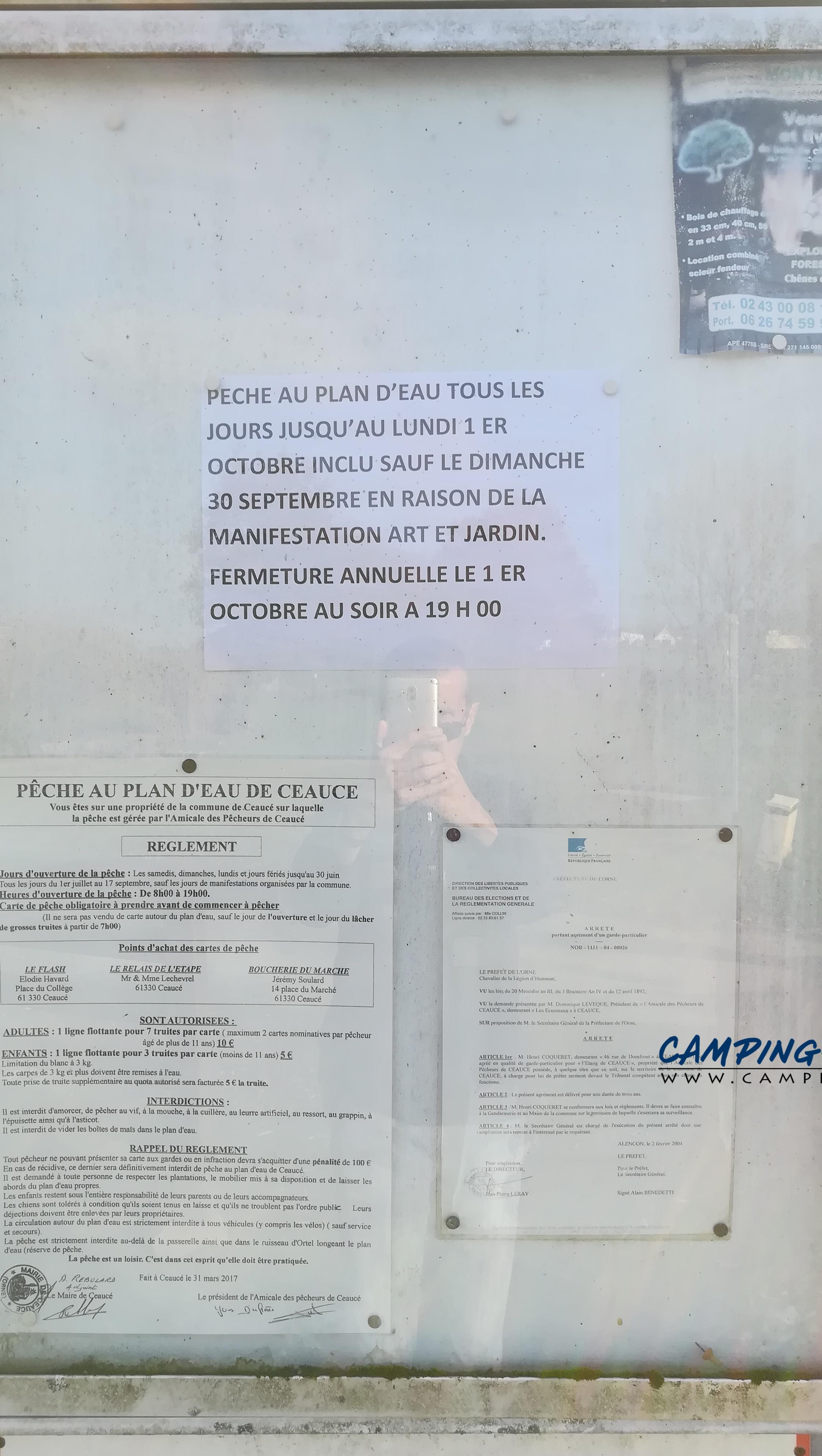 aire services camping car Ceaucé Orne Normandie