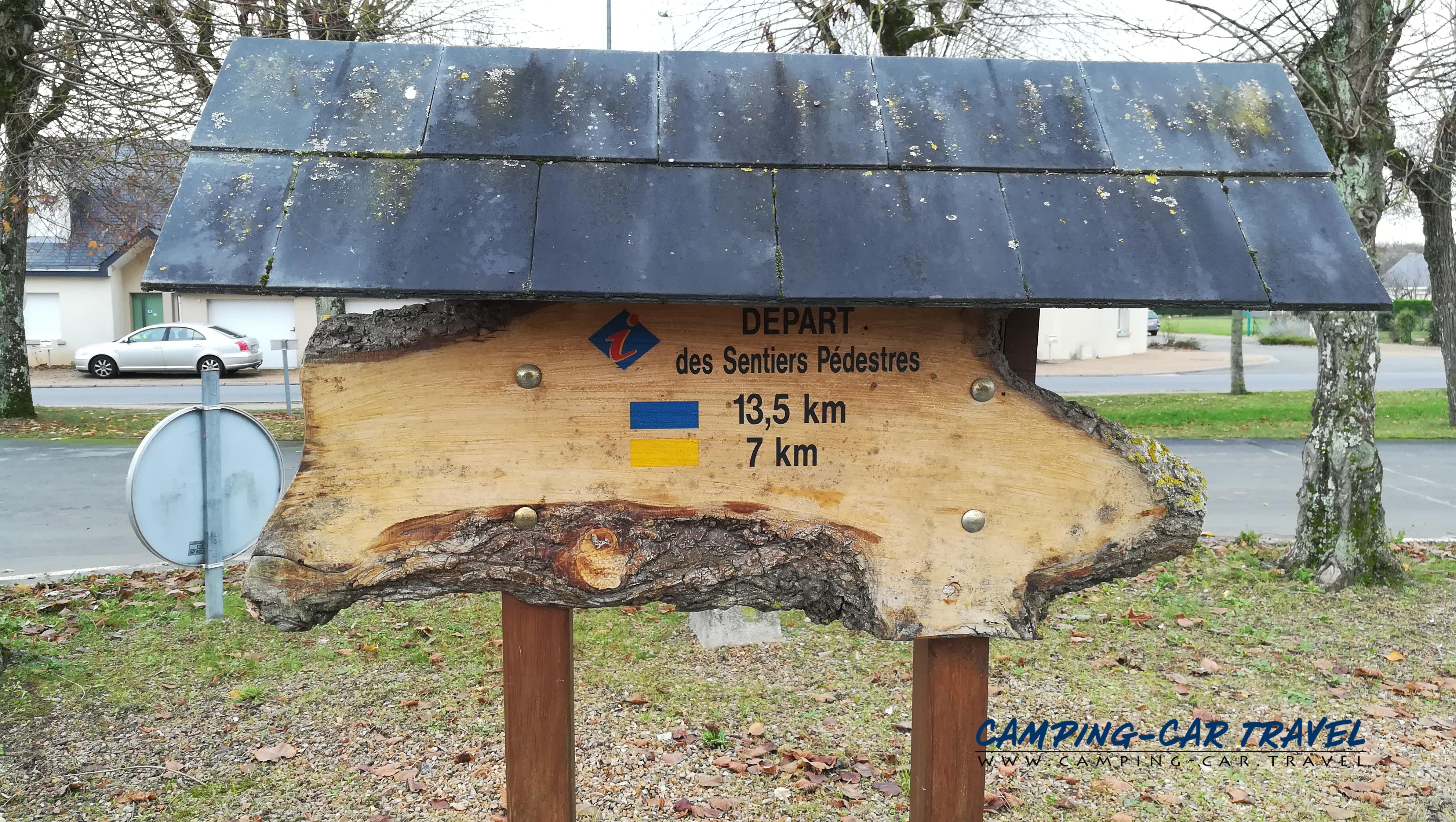 aire services camping car Noyant Maine-et-Loire Pays-de-la-Loire