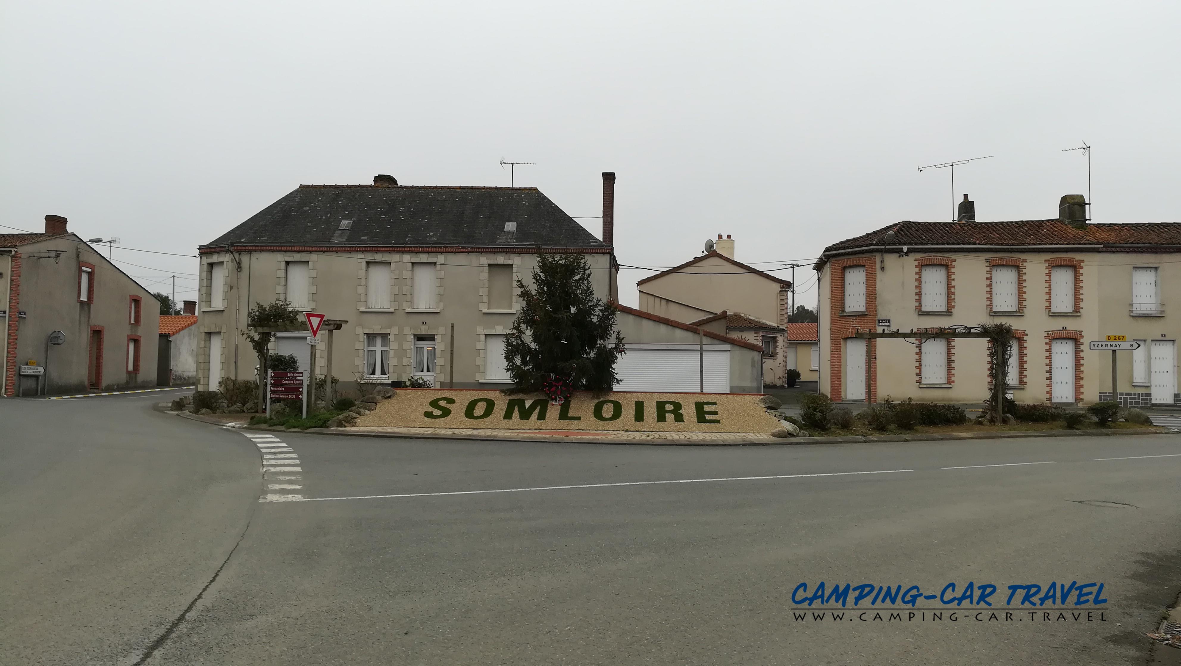 aire services camping car Somloire Maine-et-Loire Pays-de-la-Loire