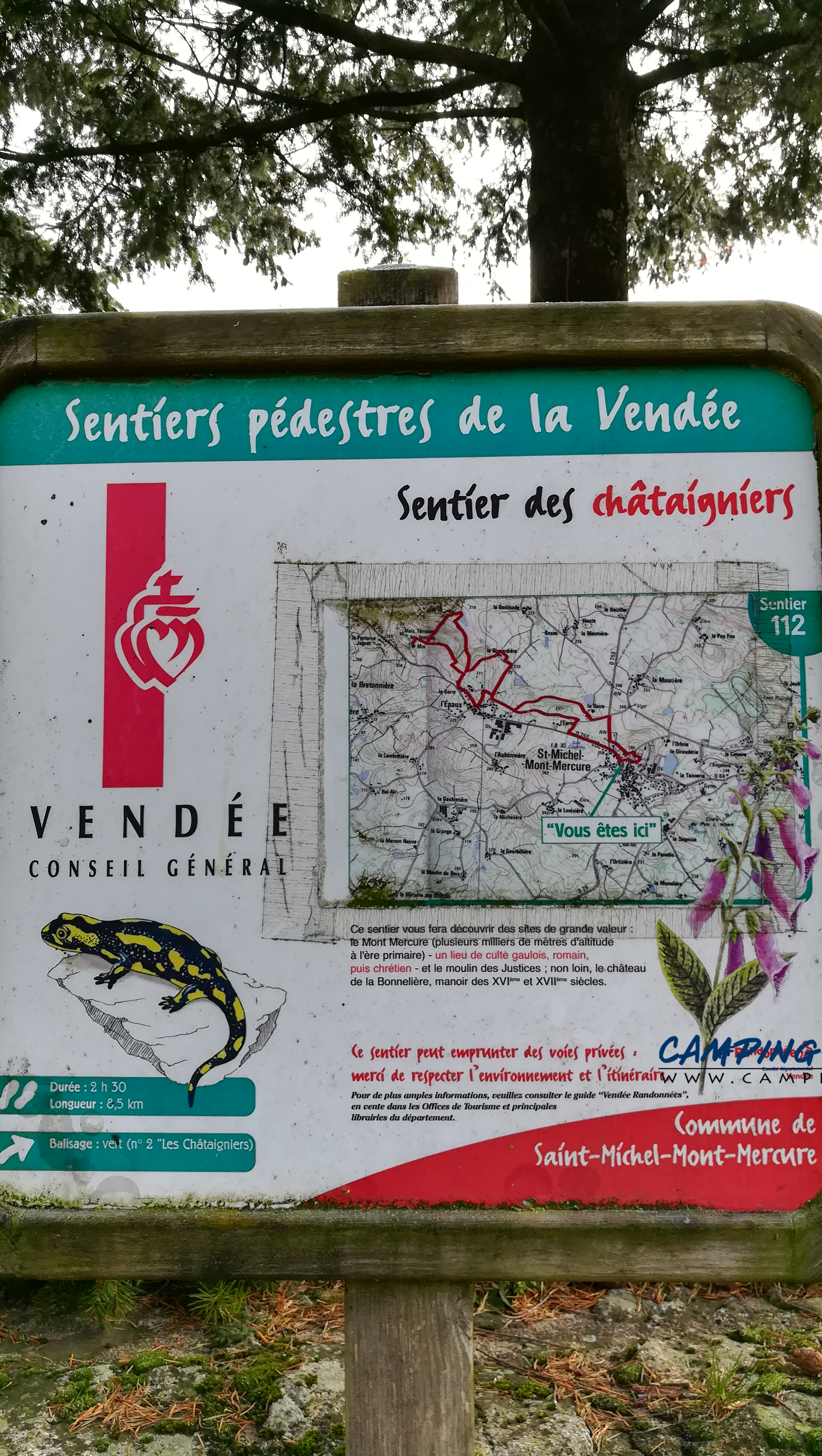 aire services camping car Saint-Michel-Mont-Mercure Vendée Pays-de-la-Loire