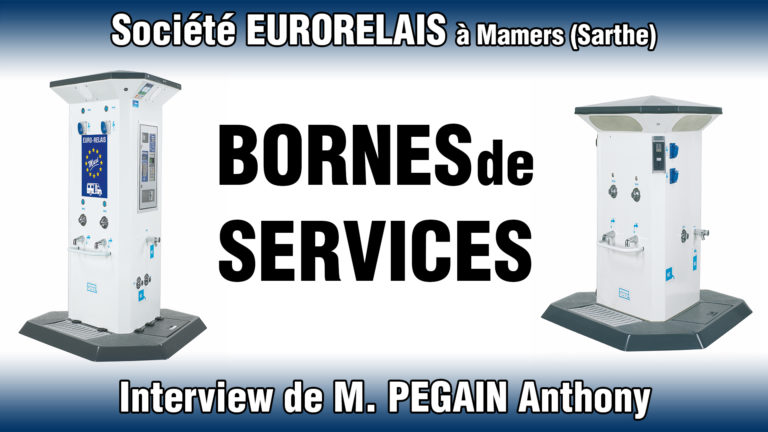 Bornes euro-relais Mamers Sarthe aire services camping car
