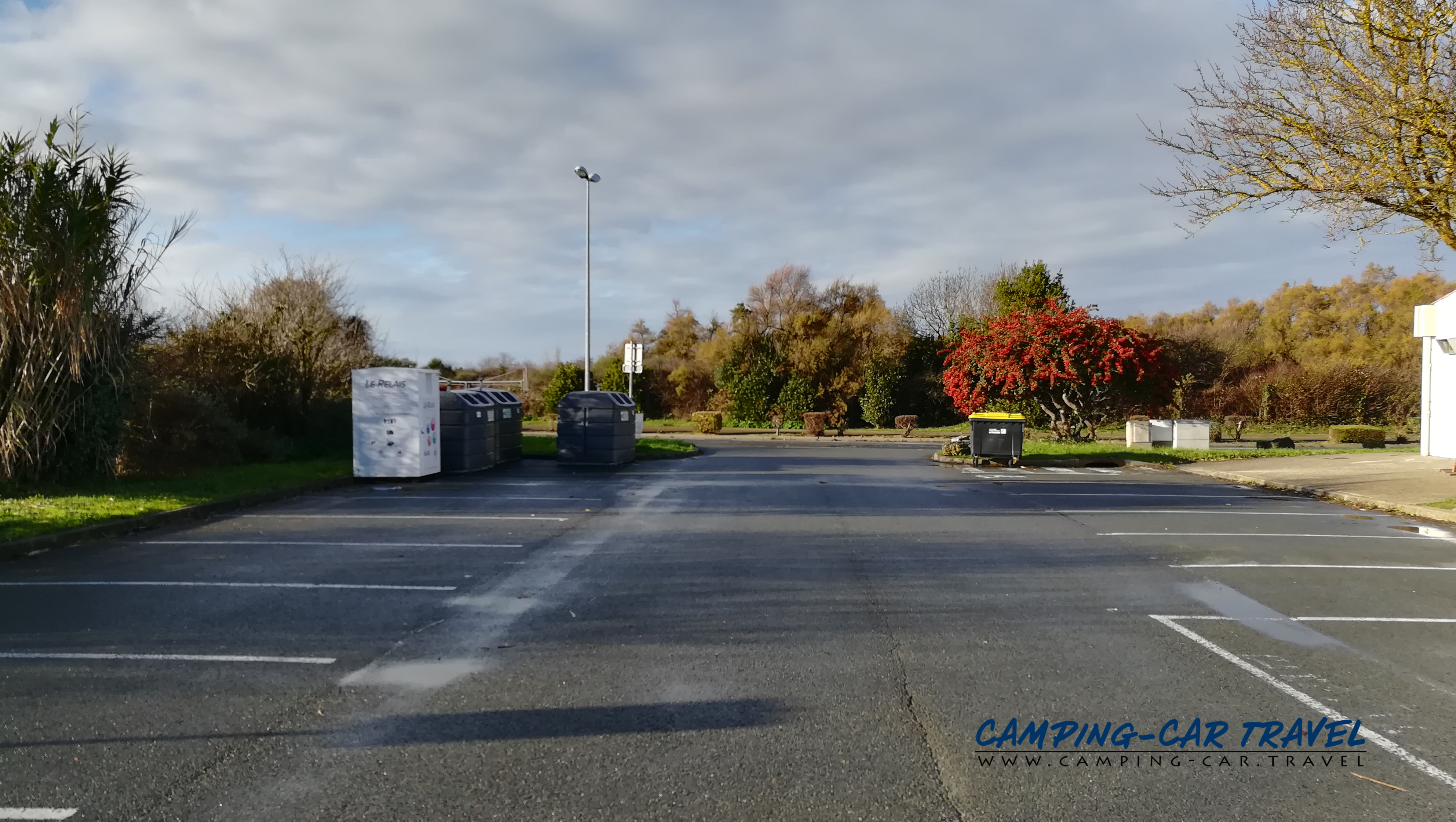 aire services camping car Angoulins Charente-Maritime
