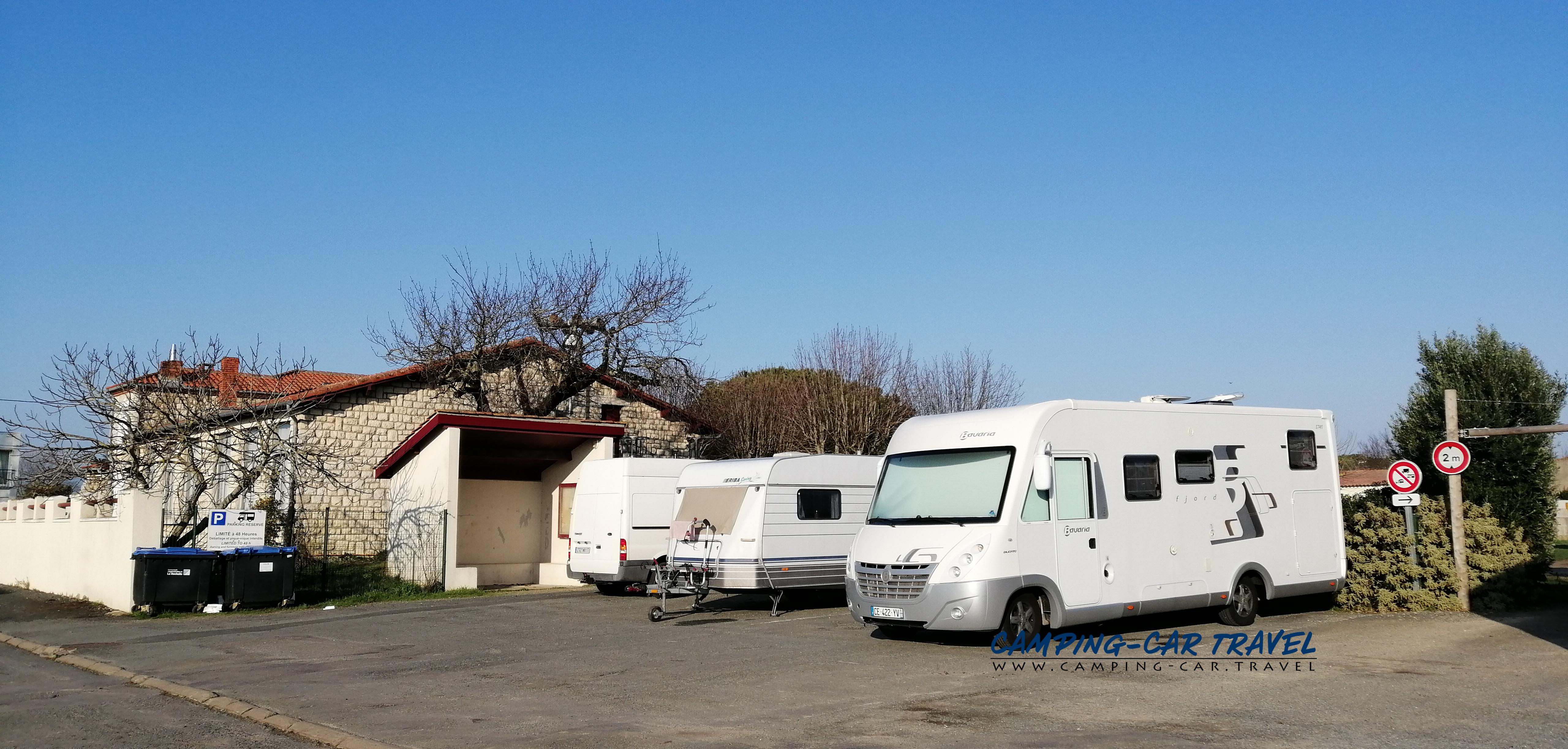 aire services camping car Châtelaillon-Plage en Charente-Maritime