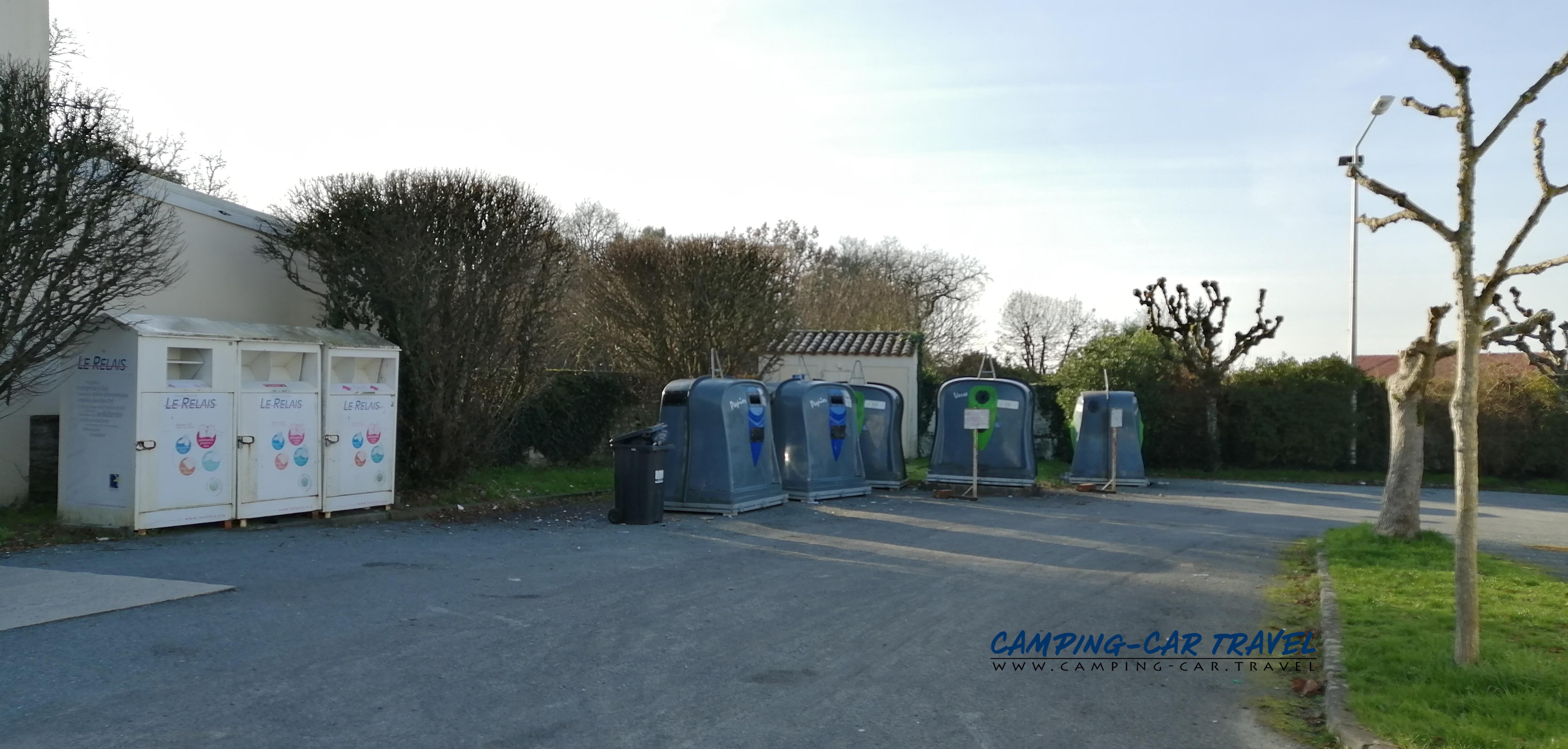 aire services camping car Pont-l'Abbé-D'Arnoult Charente-Maritime Poitou-Charente