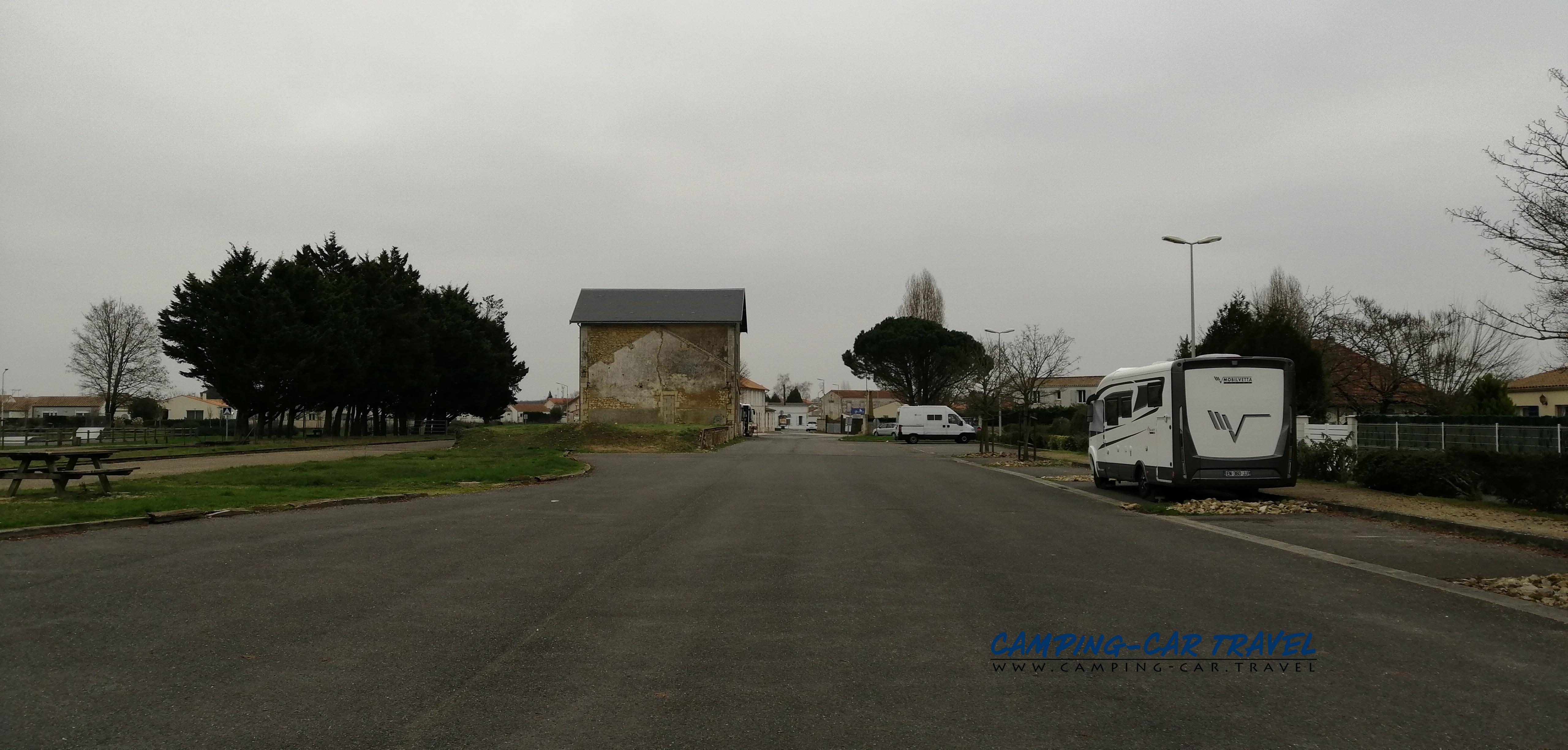 aire services camping car Cozes Charente-Maritime Poitou-Charentes