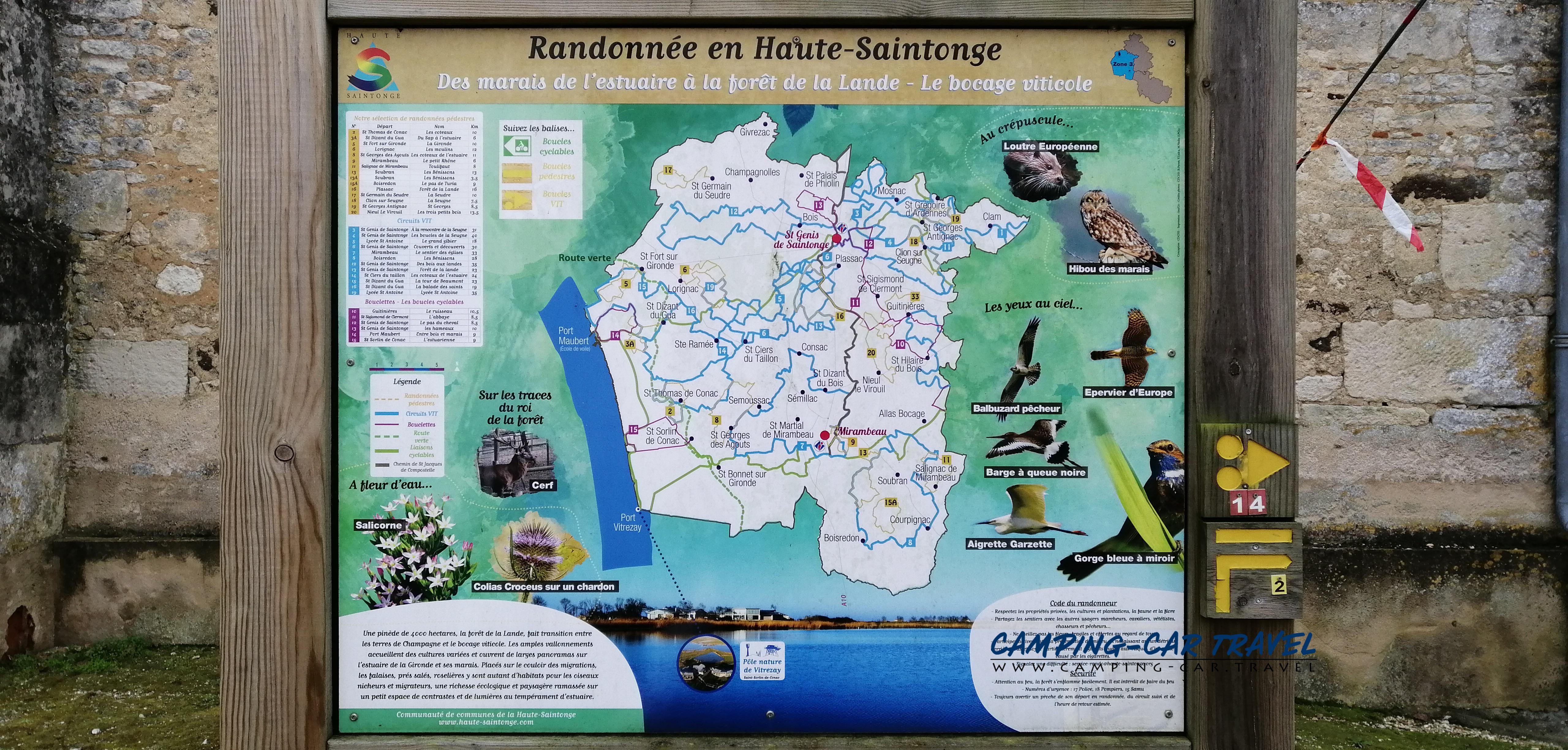 aire services camping car Saint-Thomas-de-Conac Charente-Maritime