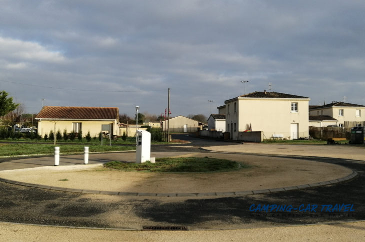 aire services camping car Cartelègue Gironde