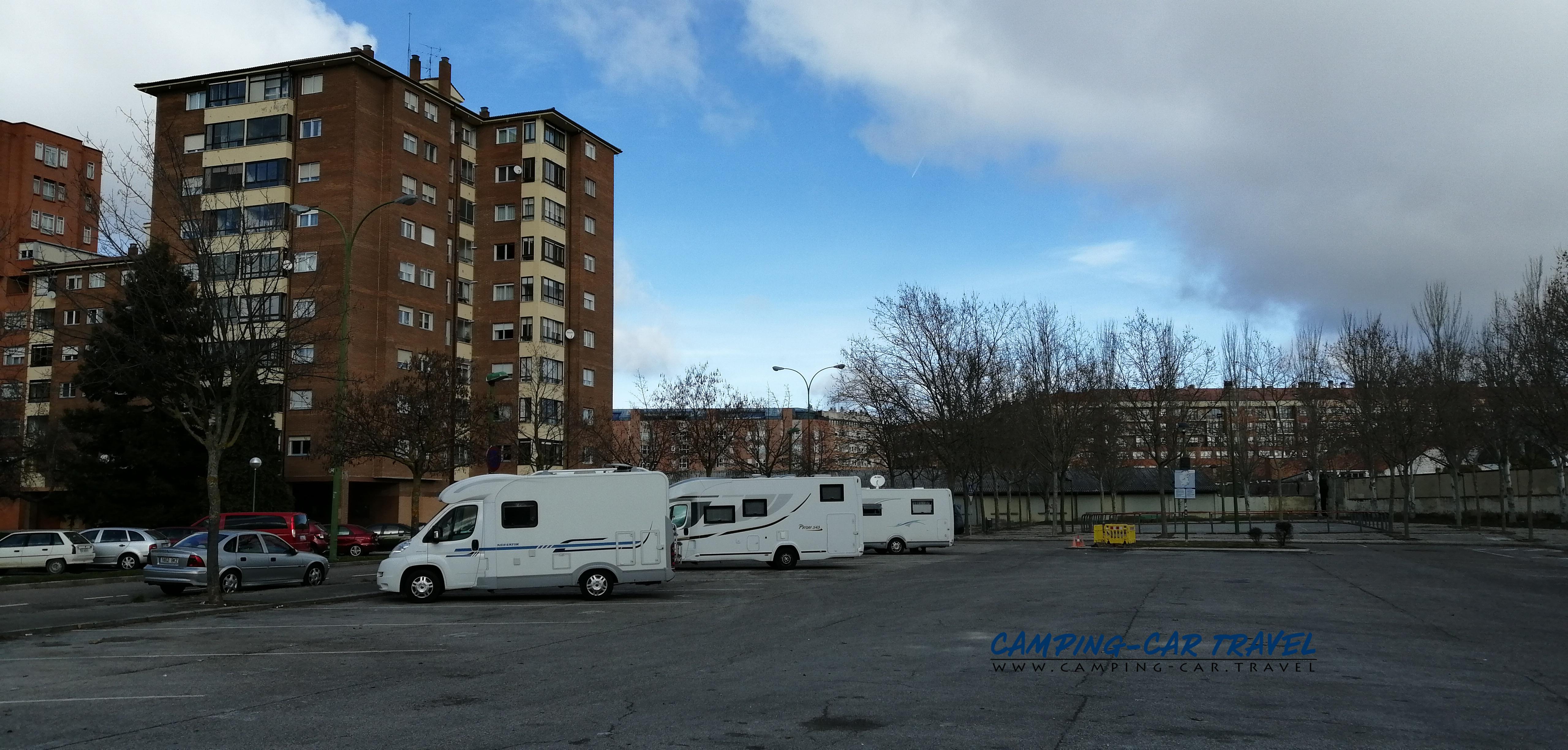 aire services camping car Burgos Espagne Spain