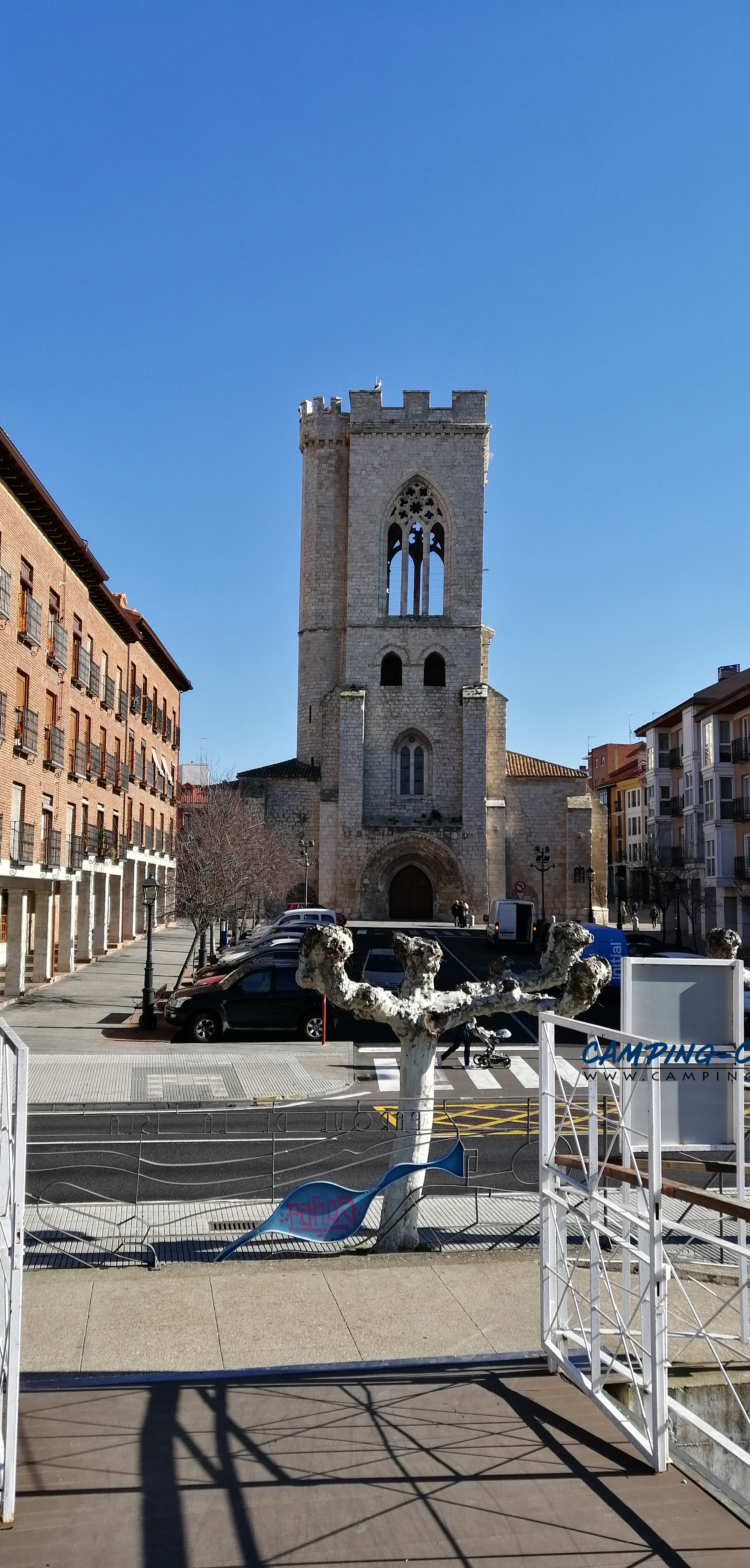 aire services camping car Palencia Espagne Spain