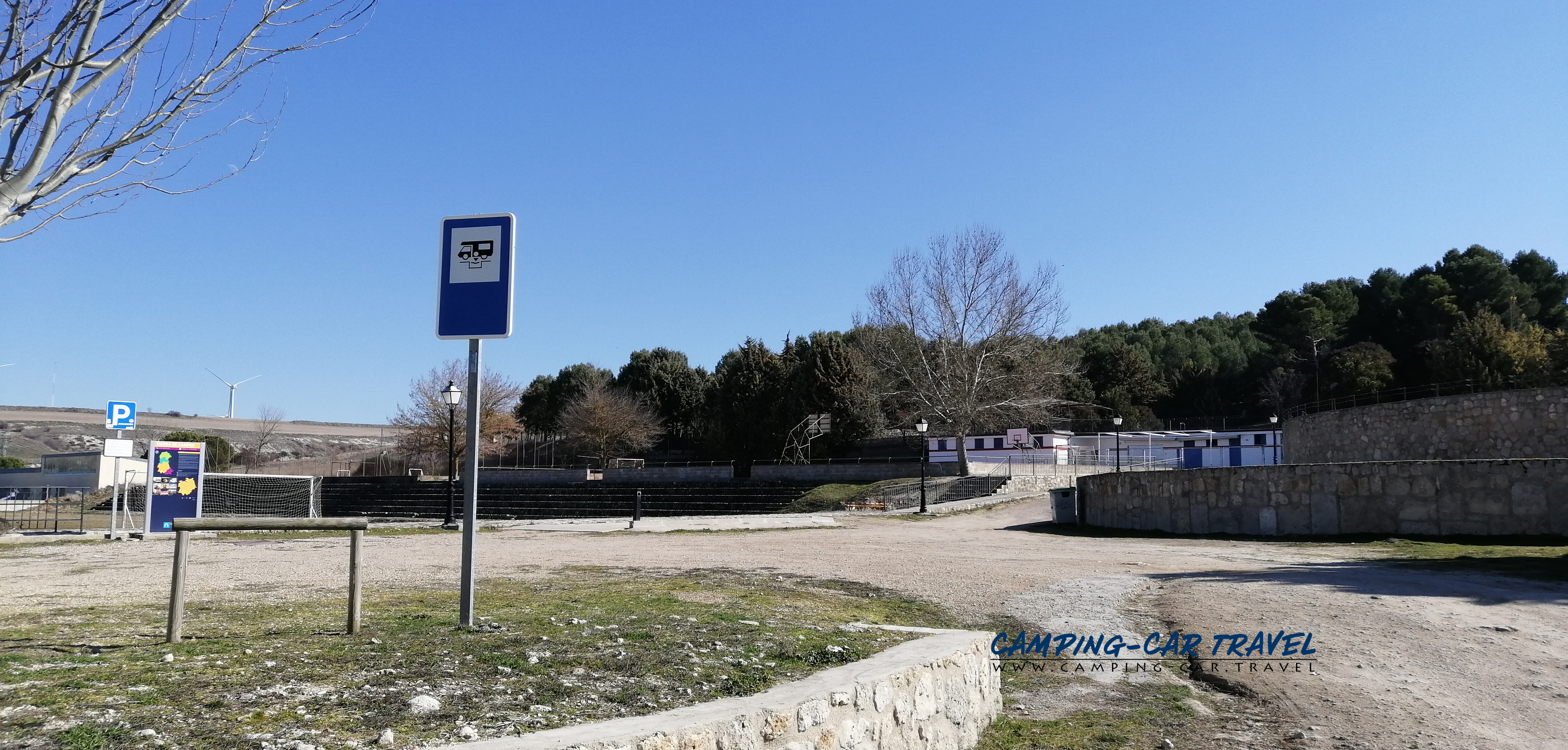 aire services camping-cars Ampudia Espagne Spain